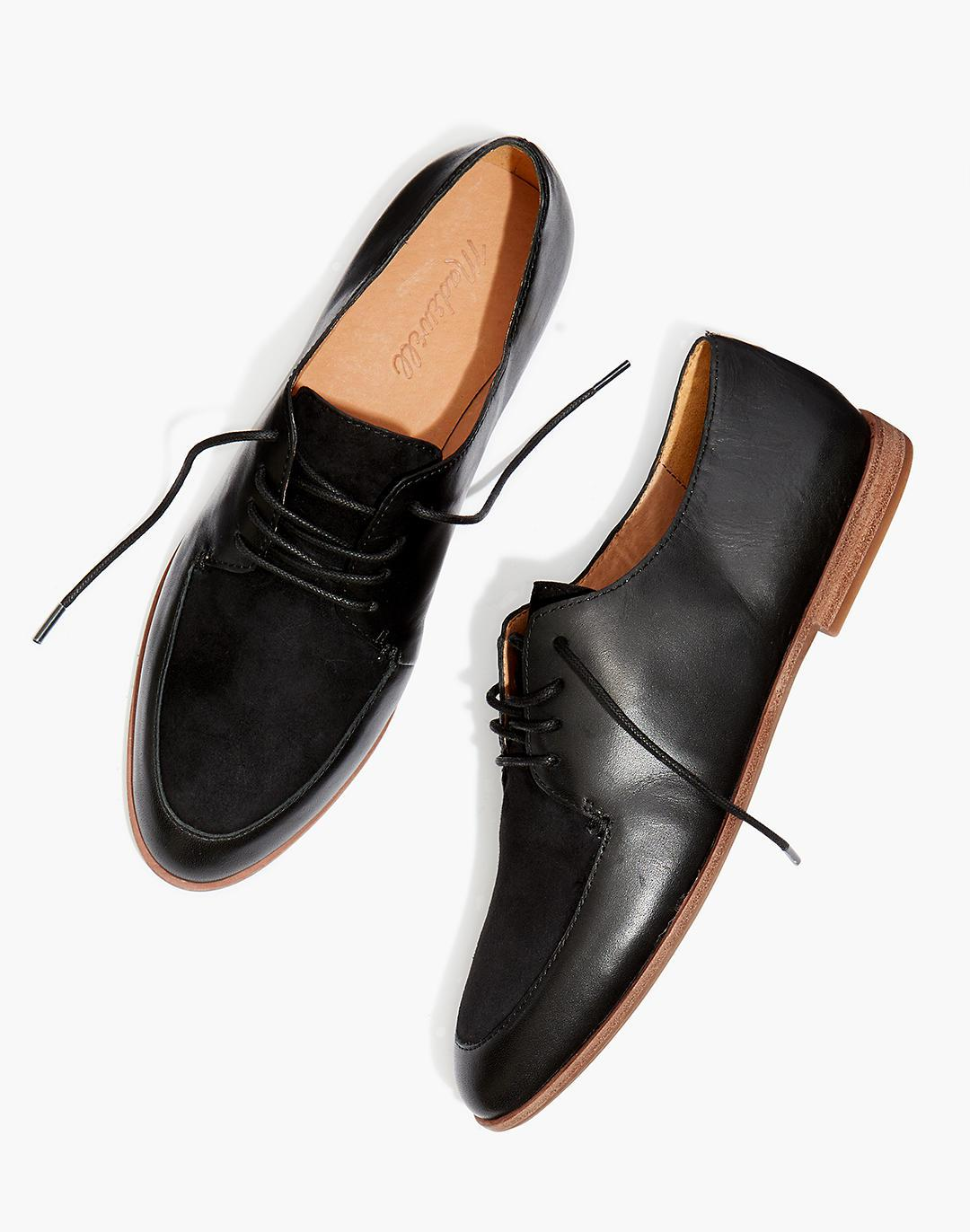 The Alex Oxford in Leather and Suede