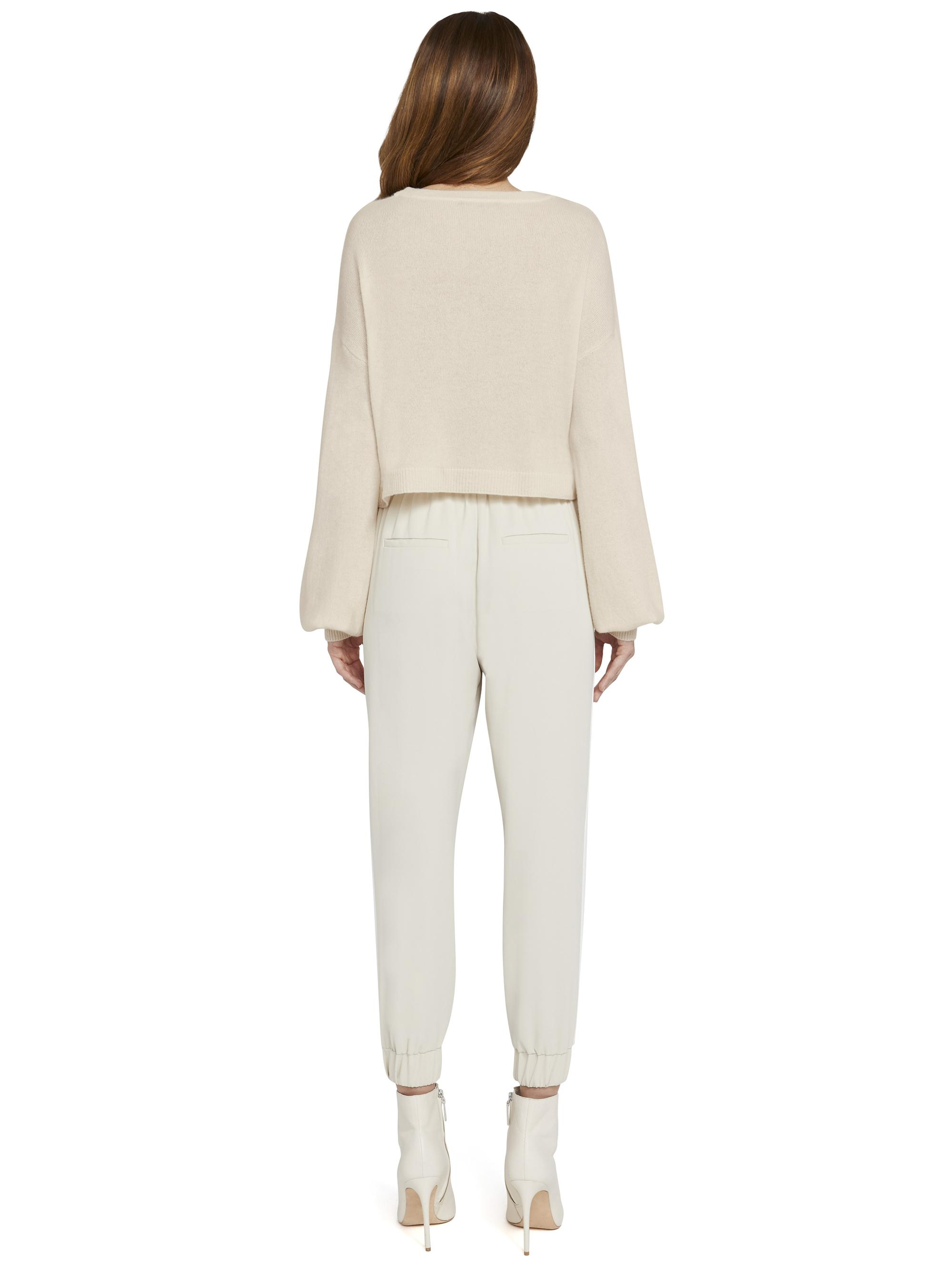 ANSLEY WIDE SLEEVE CROPPED SWEATER 1