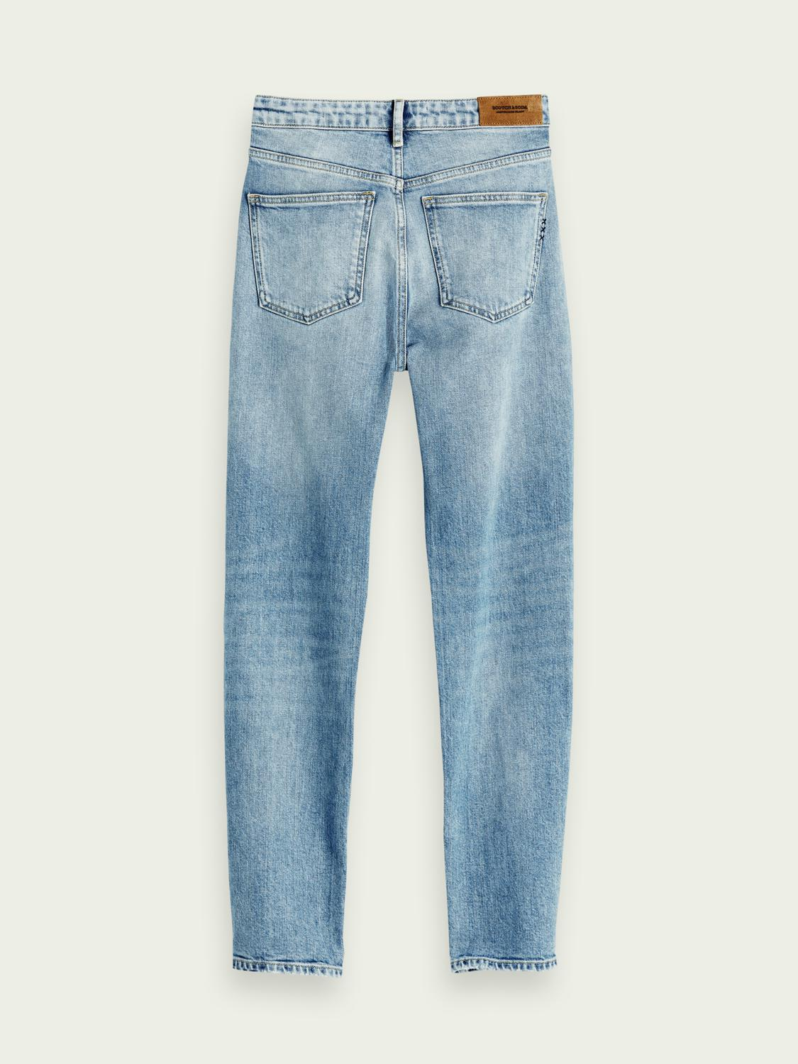 The Keeper - Turquoise Mid rise slim fit 6