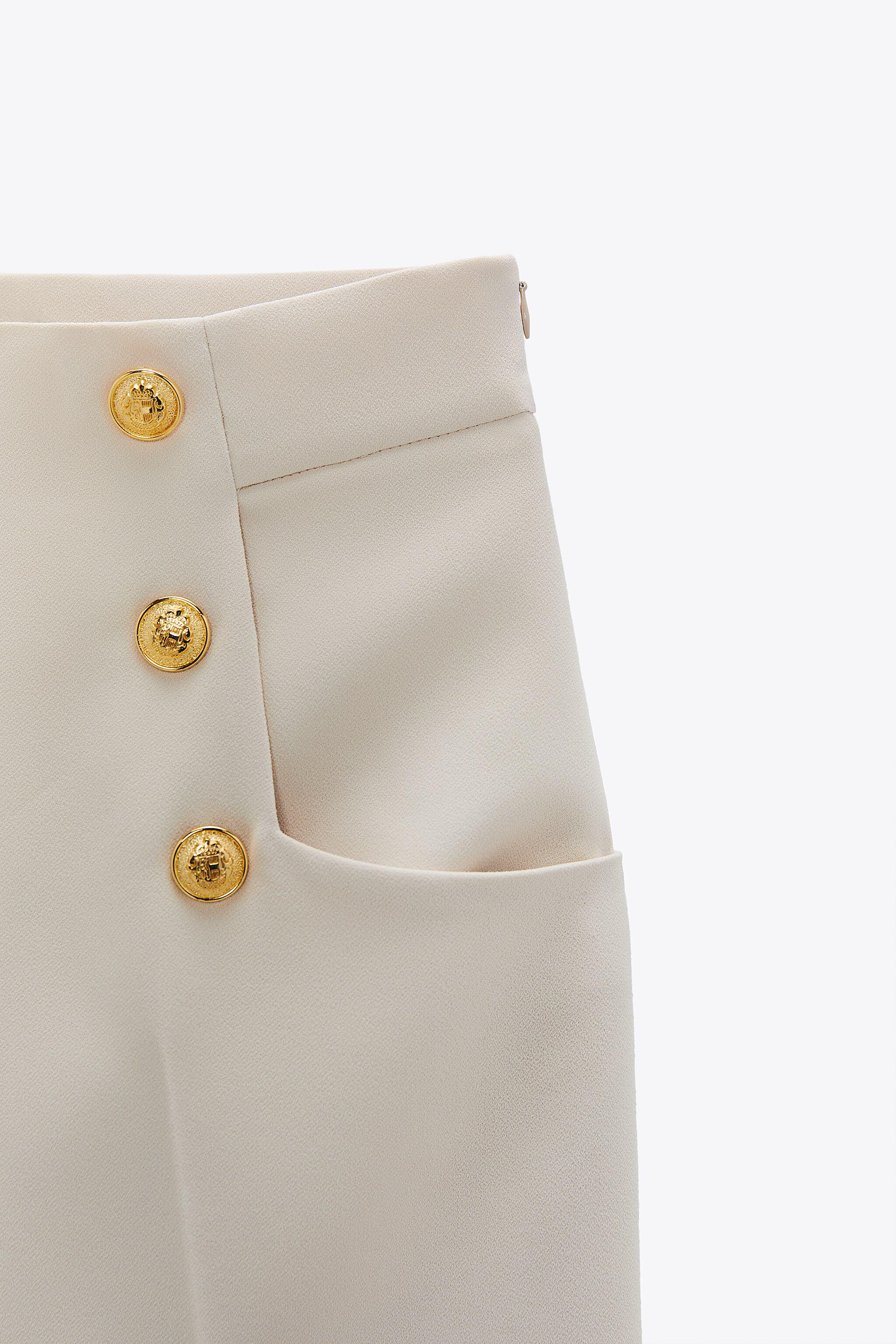 BUTTONED CULOTTES 7