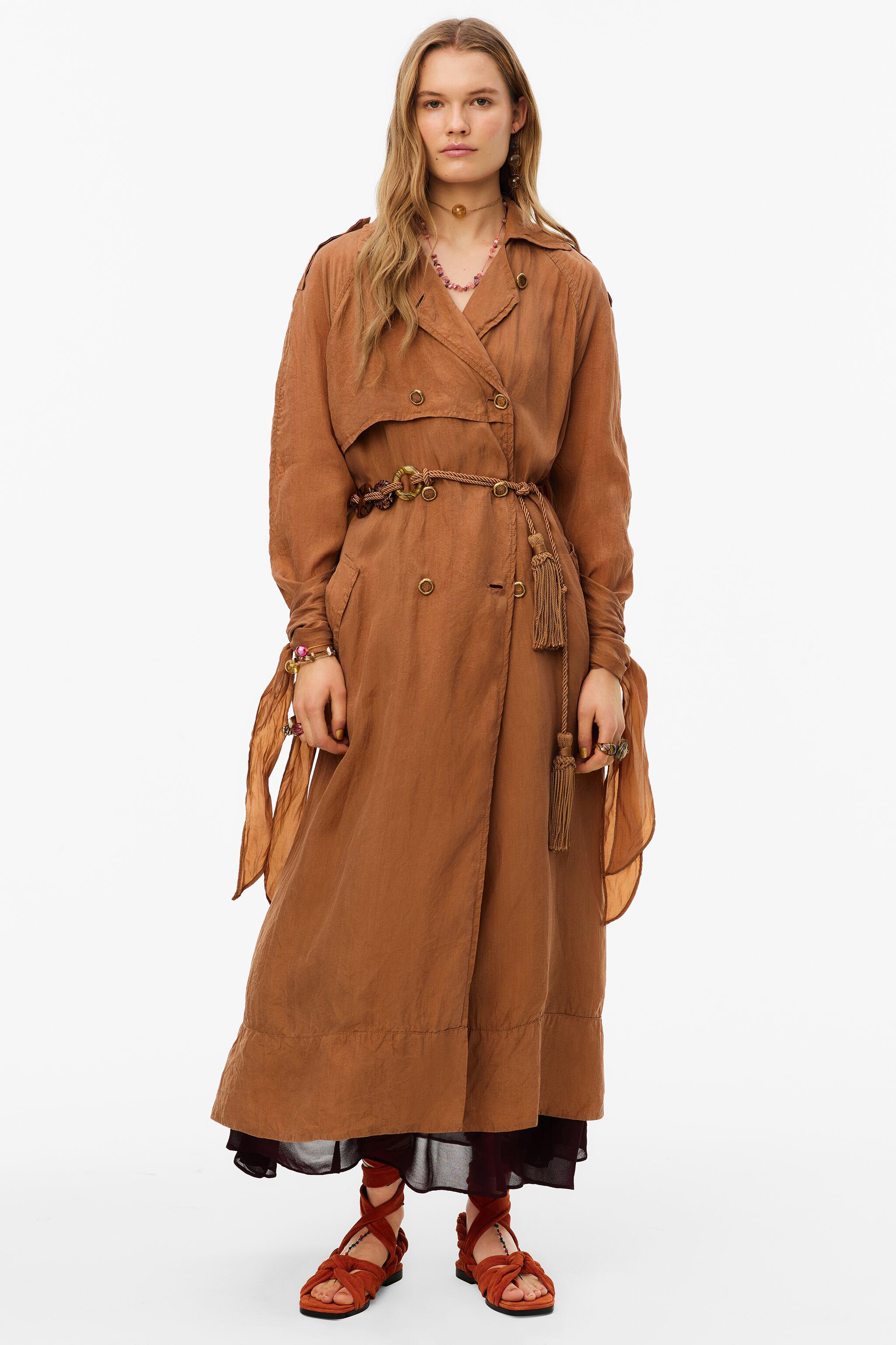 FLOWY TRENCH COAT LIMITED EDITION