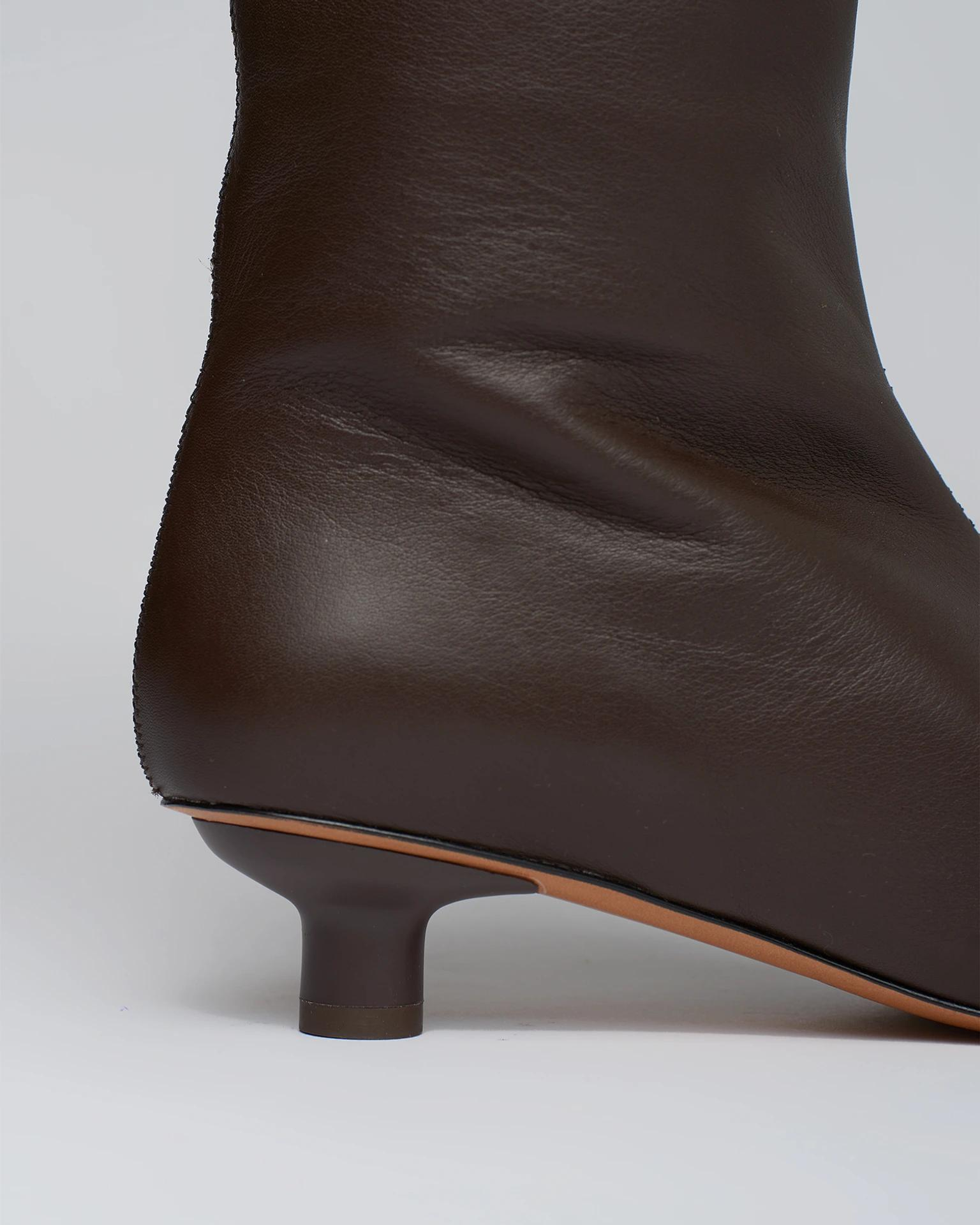 PIPPA - Leather knee-boots - Java 3