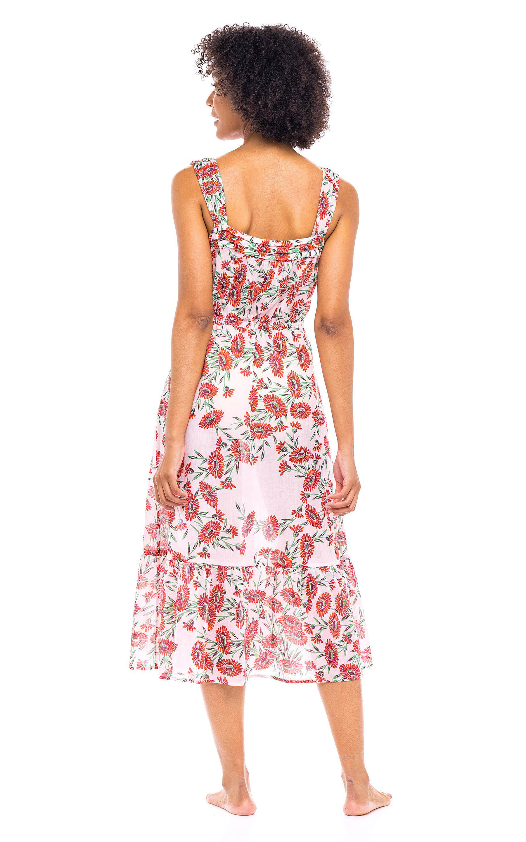 Rosalind Gown Dune Daisy White 1