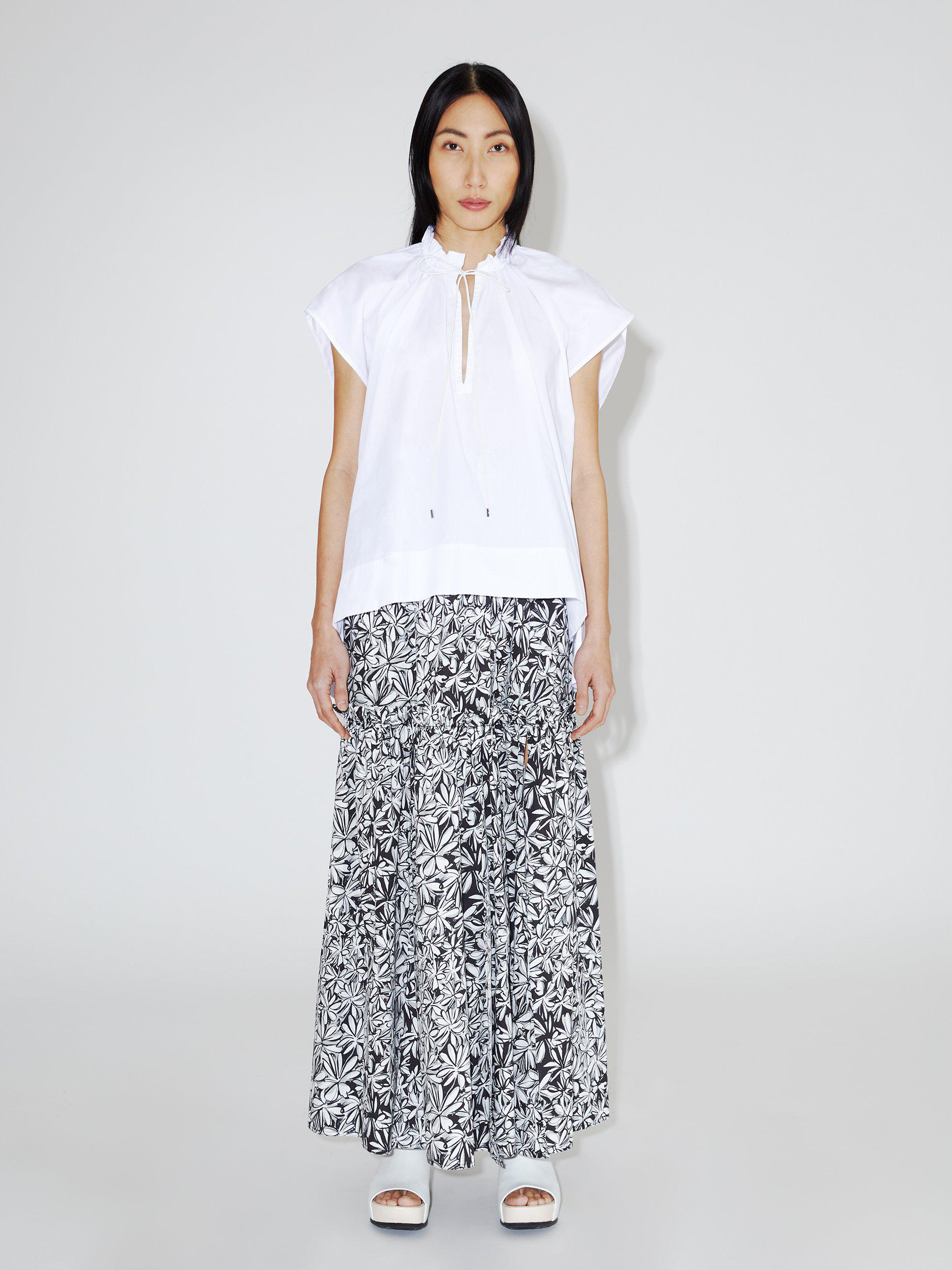 Ruched Balloon Top