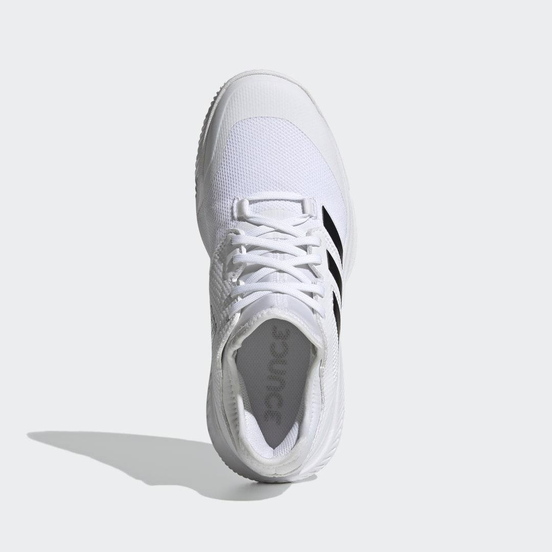 Court Team Bounce Indoor Shoes White 8