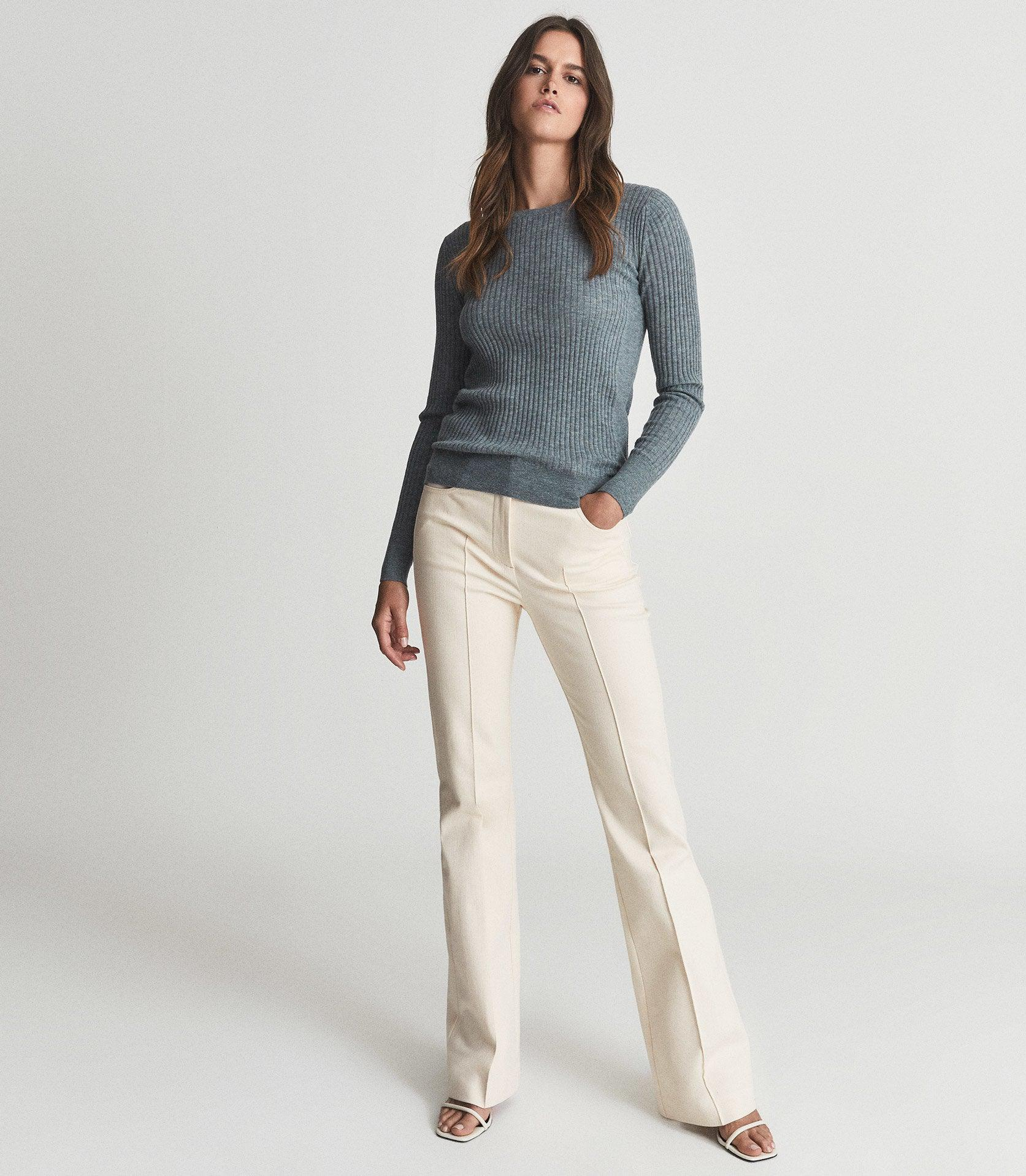 MAEVE - CREW NECK KNITTED TOP