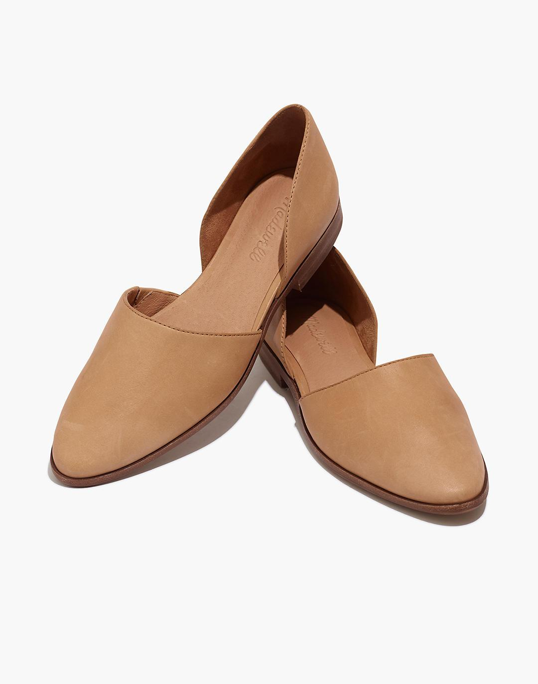 The Marisa d'Orsay Flat in Leather