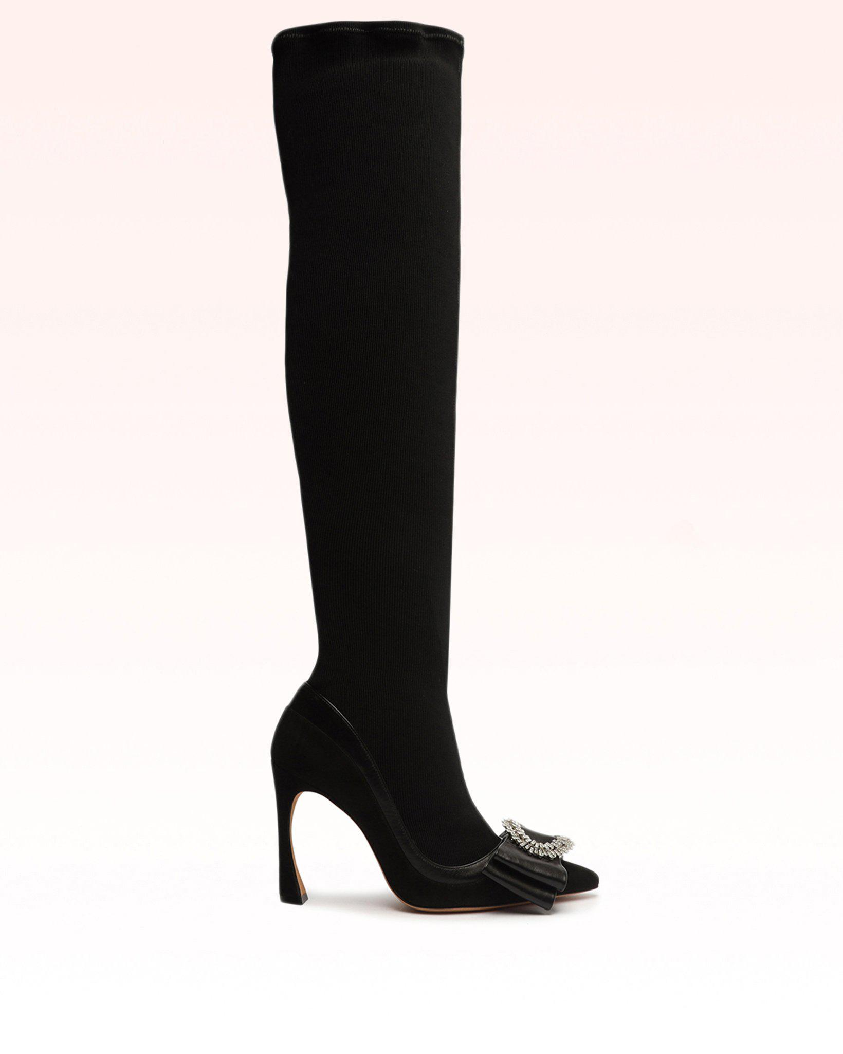 Maddie Wave Over The Knee Boot