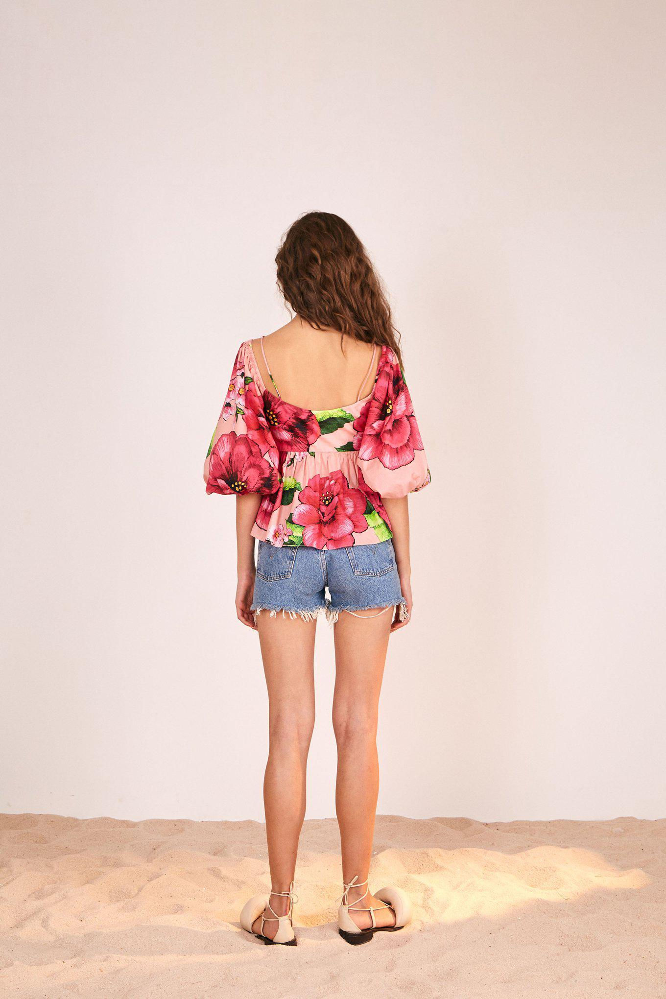 EMBROIDERED CHITA BLOUSE 1