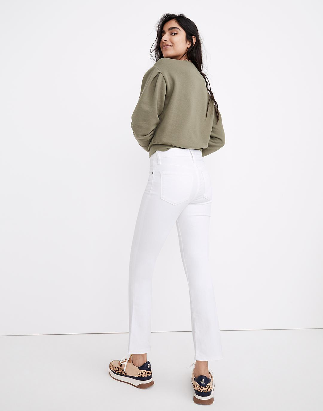 Tall Cali Demi-Boot Jeans in Pure White 2