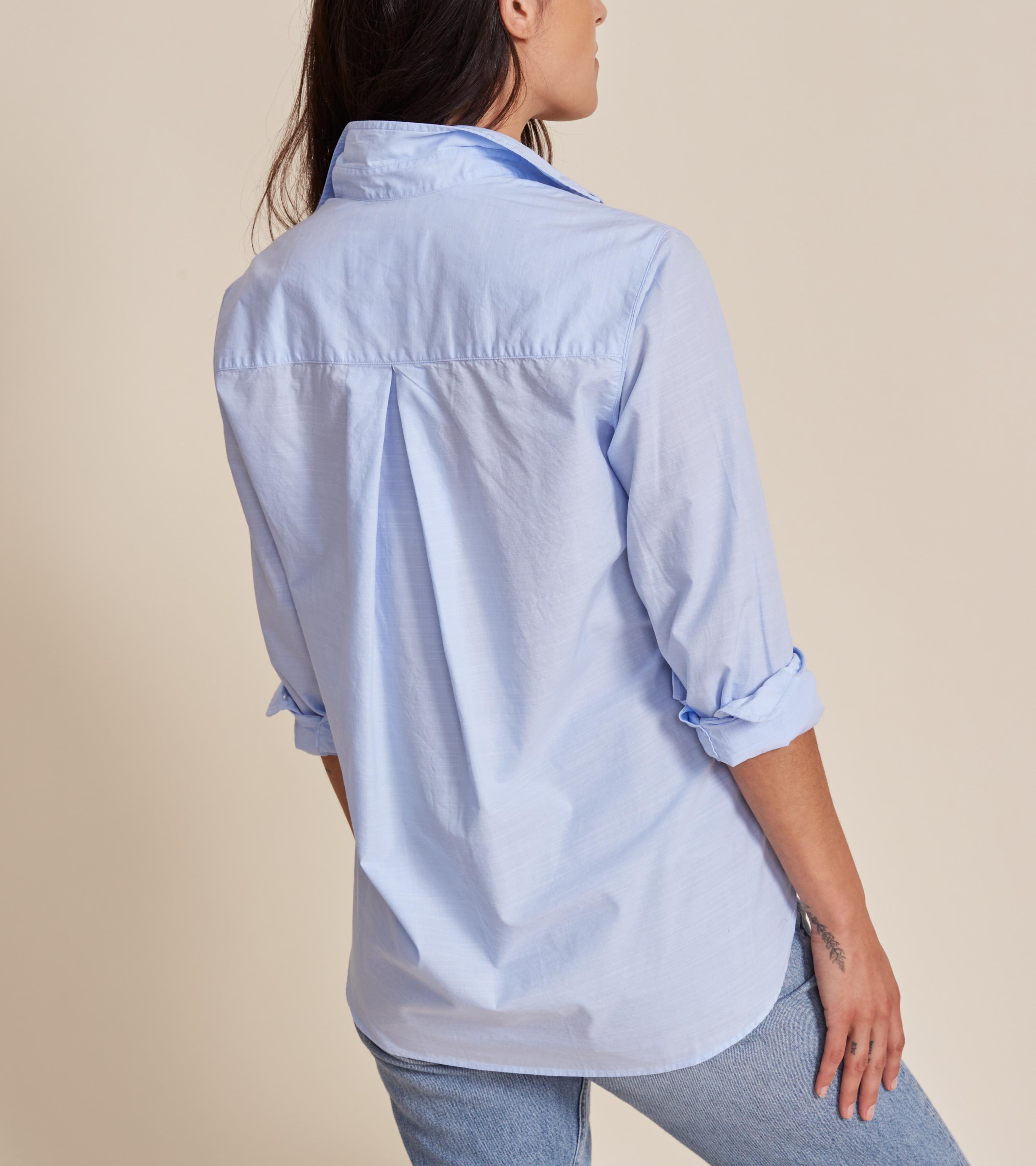 The Hero French Blue, Washed Cotton 1