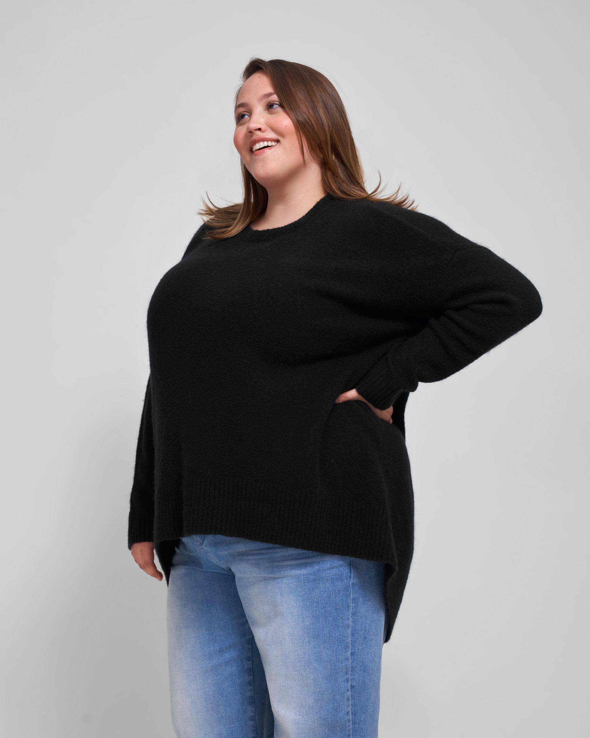 Melissa High-Low Sweater 2