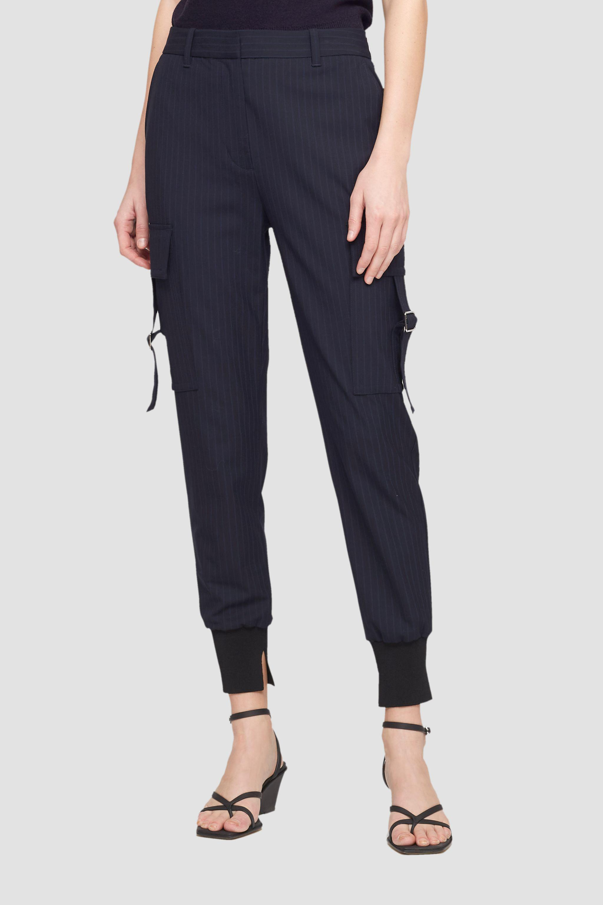 Tapered Pinstripe Jogger 1