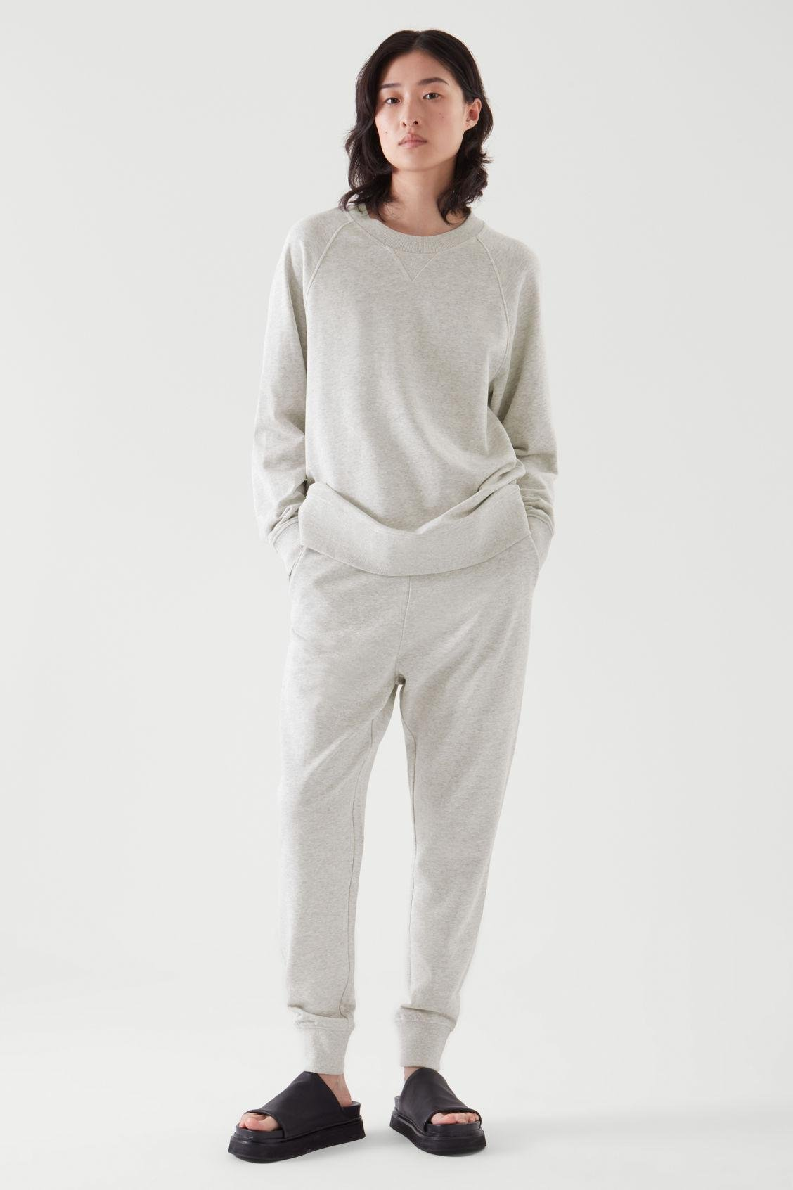 RELAXED-FIT TERRY SWEATSHIRT