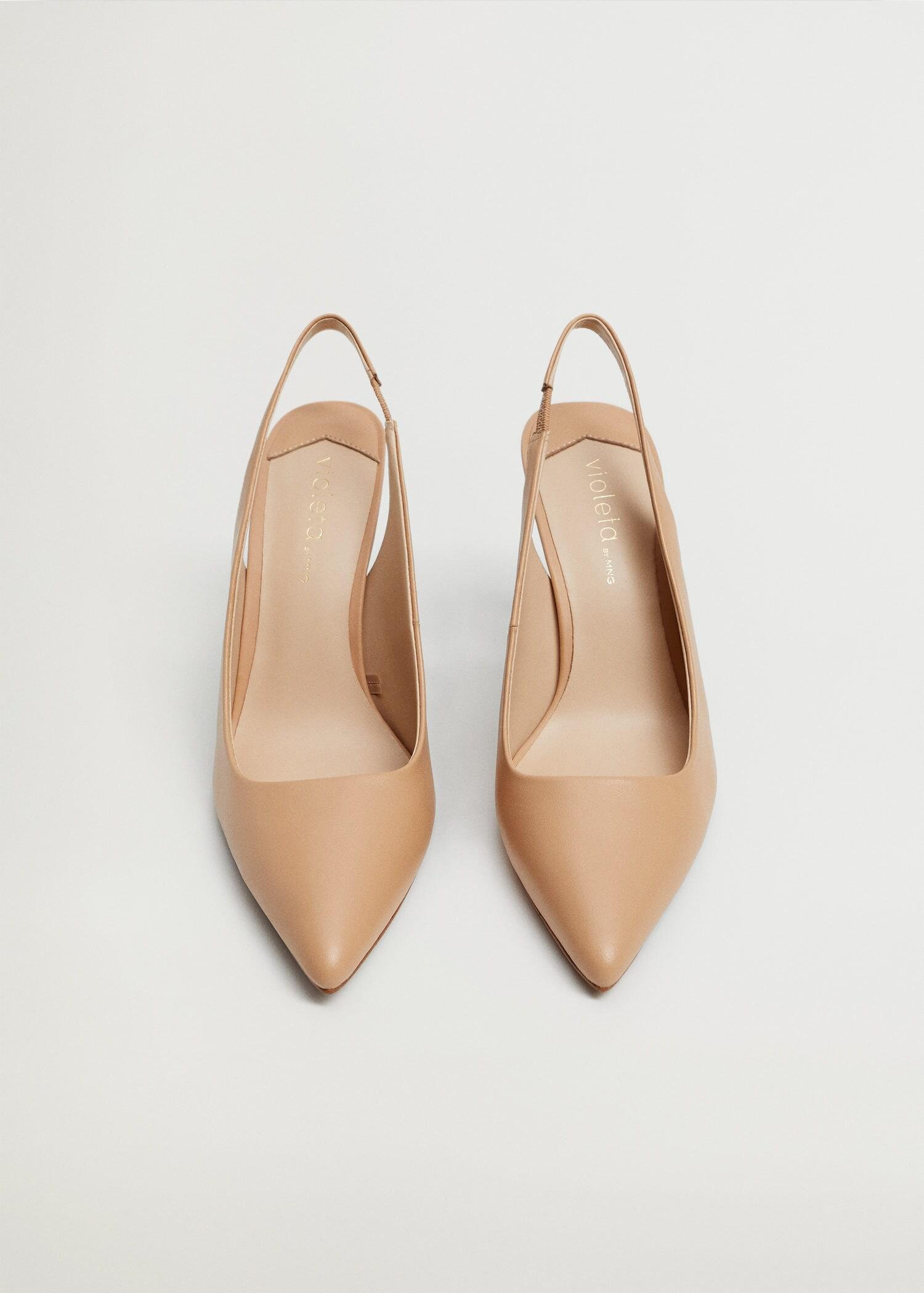 Sling back leather shoes 3