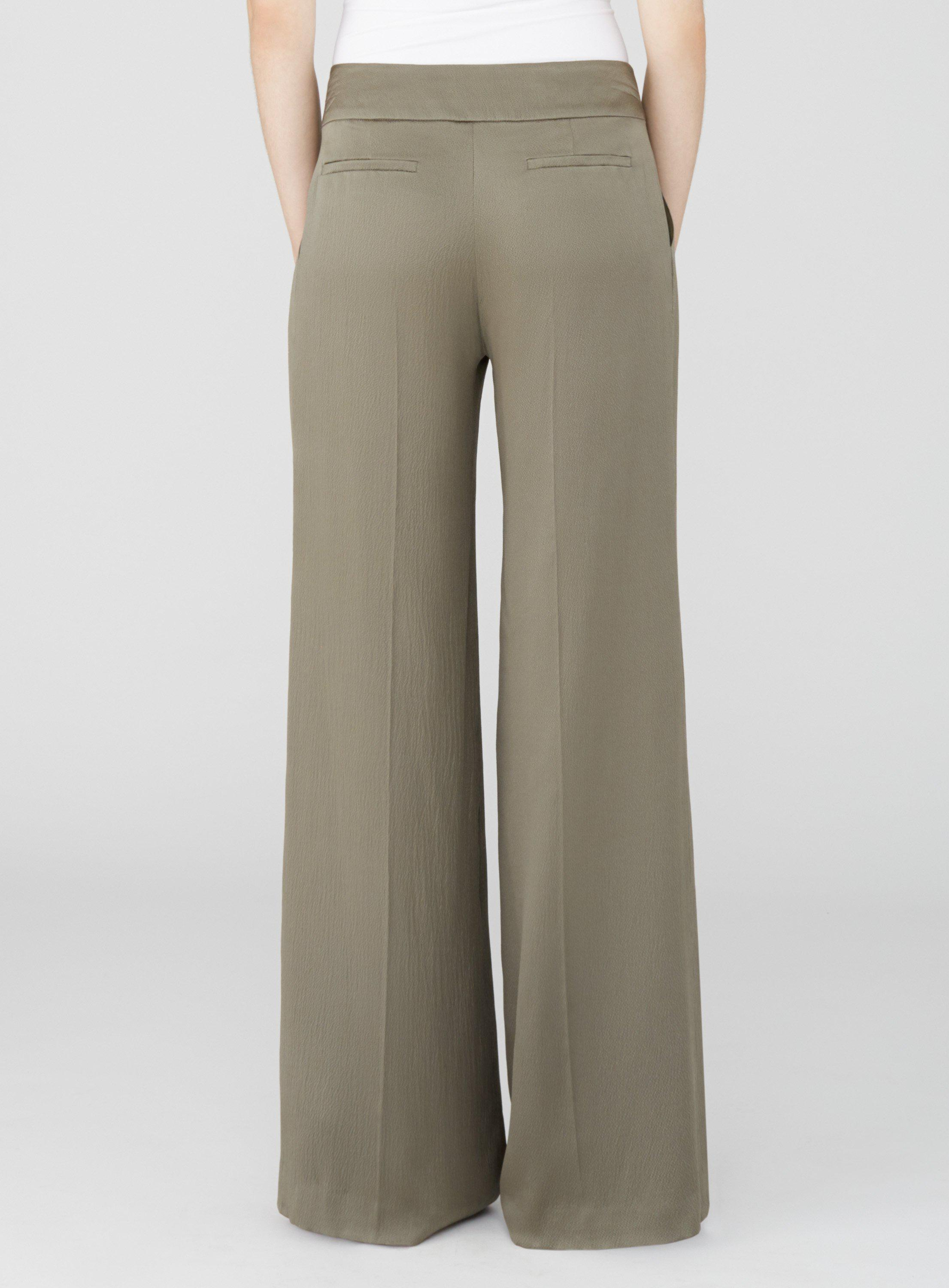 Pleat Front Relaxed Trousers