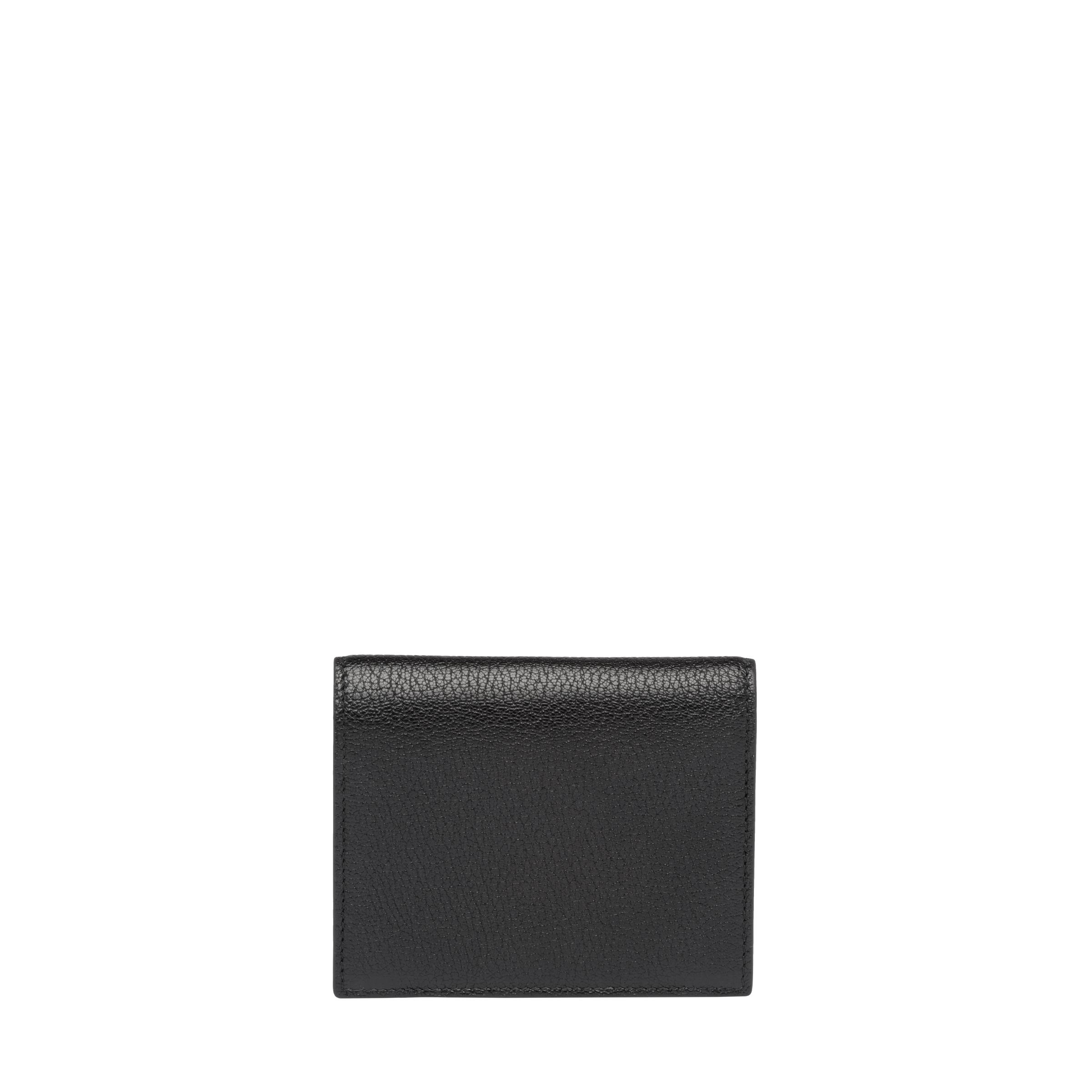 Madras Colour Leather Wallet Women Black/fiery Red 3