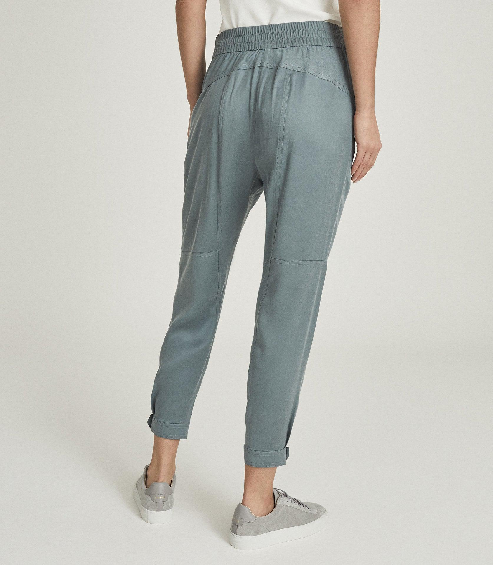 MARLOW - PLEAT FRONT TAPERED PANTS 3