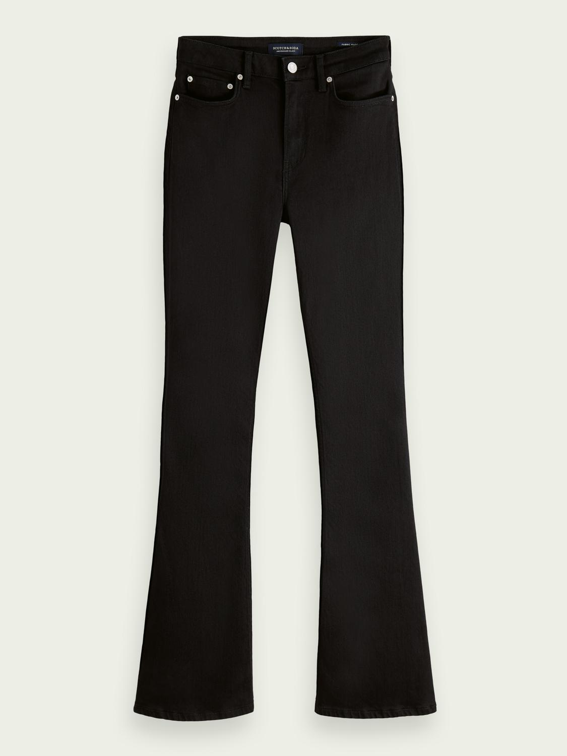 The Charm high-rise flared jeans —Think Different 5