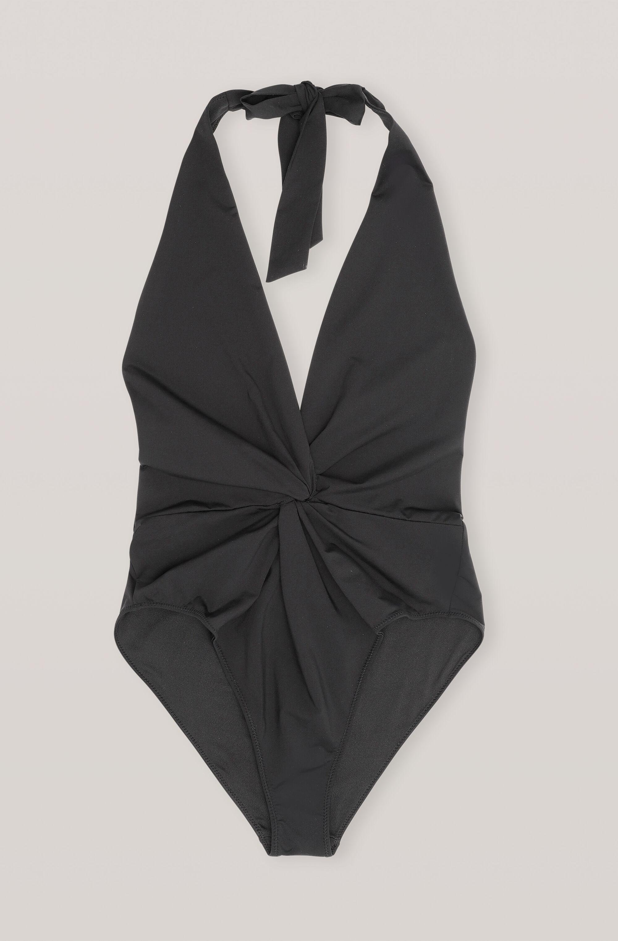 Recycled Solid Twist Swimsuit