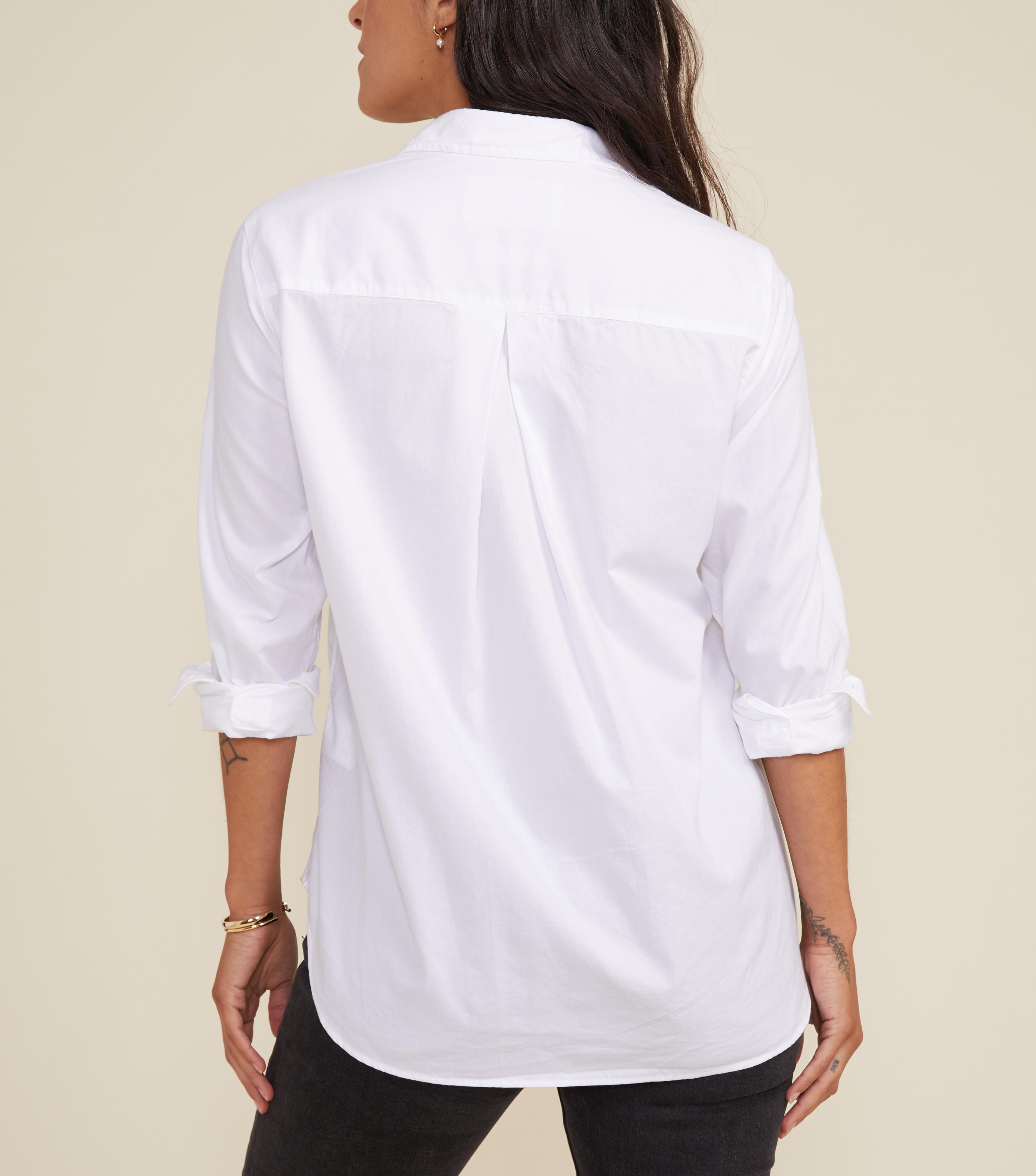 The Hero Button-Up Shirt Powerful, Brushed Cotton 1