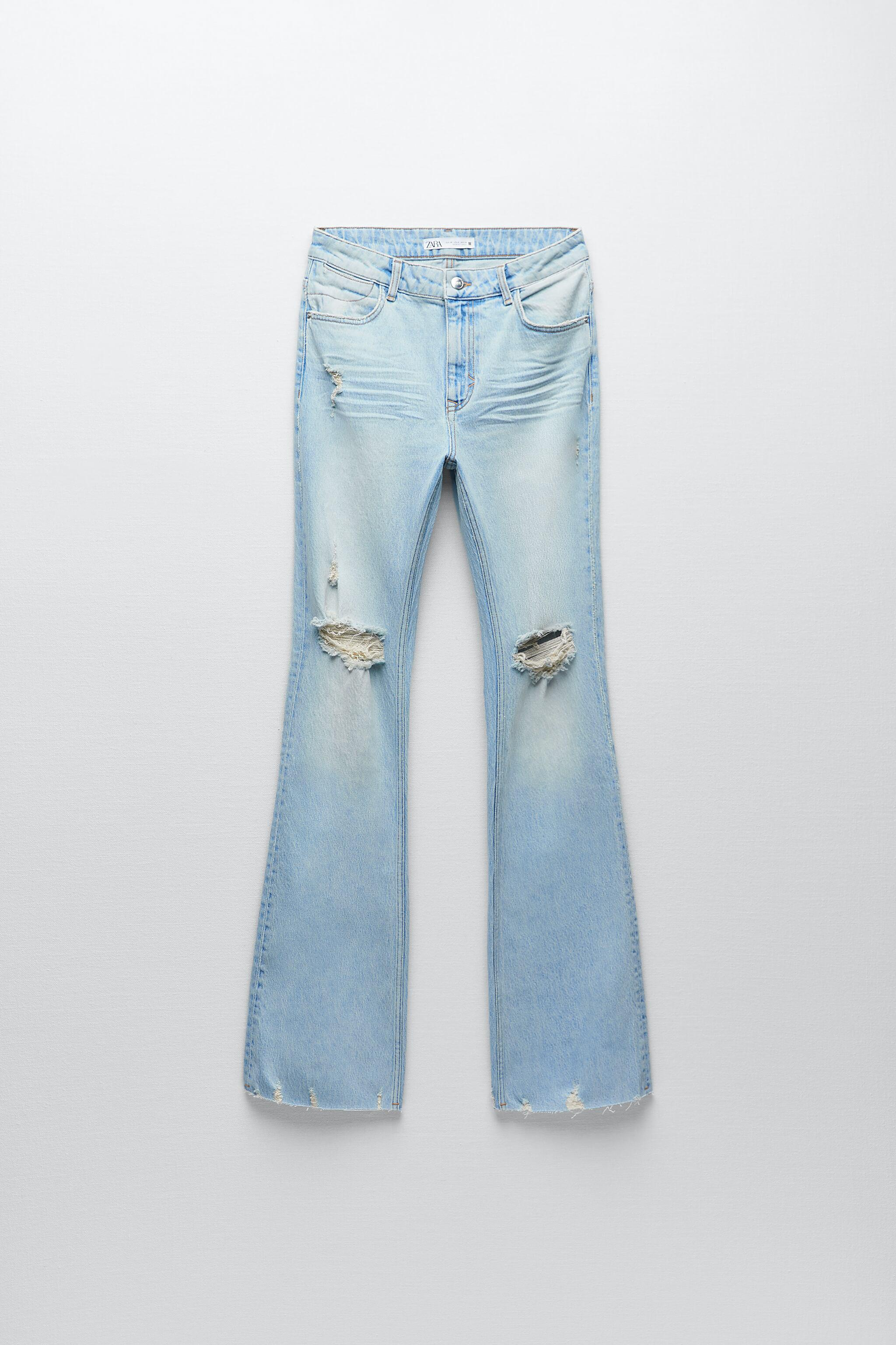 Z1975 RIPPED FLARE JEANS 6