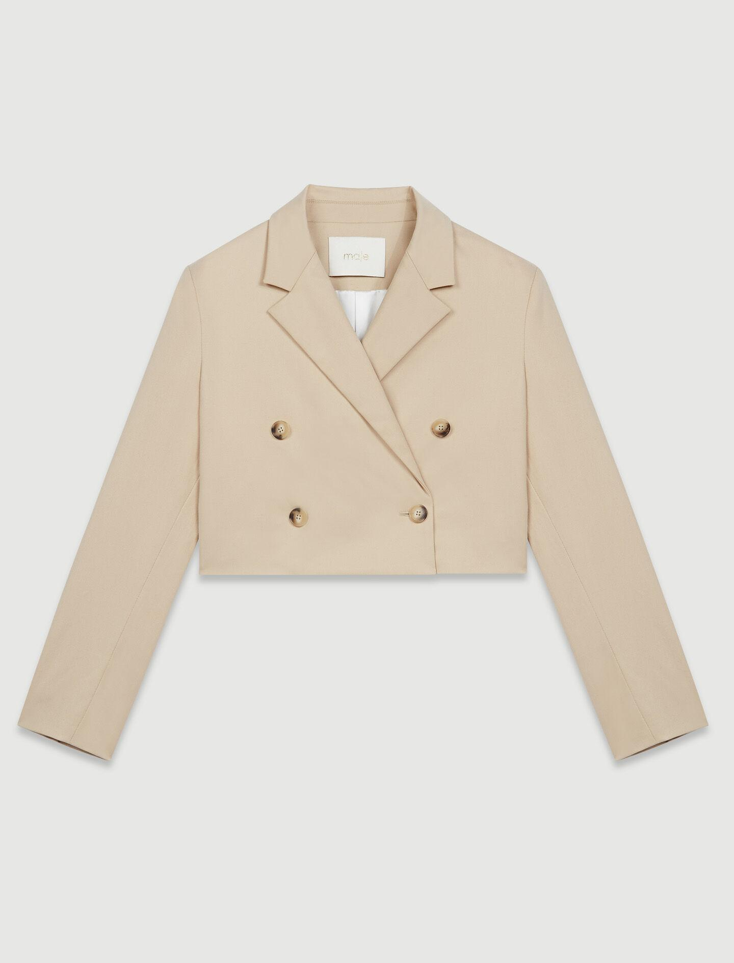 SHORT DOUBLE-BREASTED SUIT JACKET 4