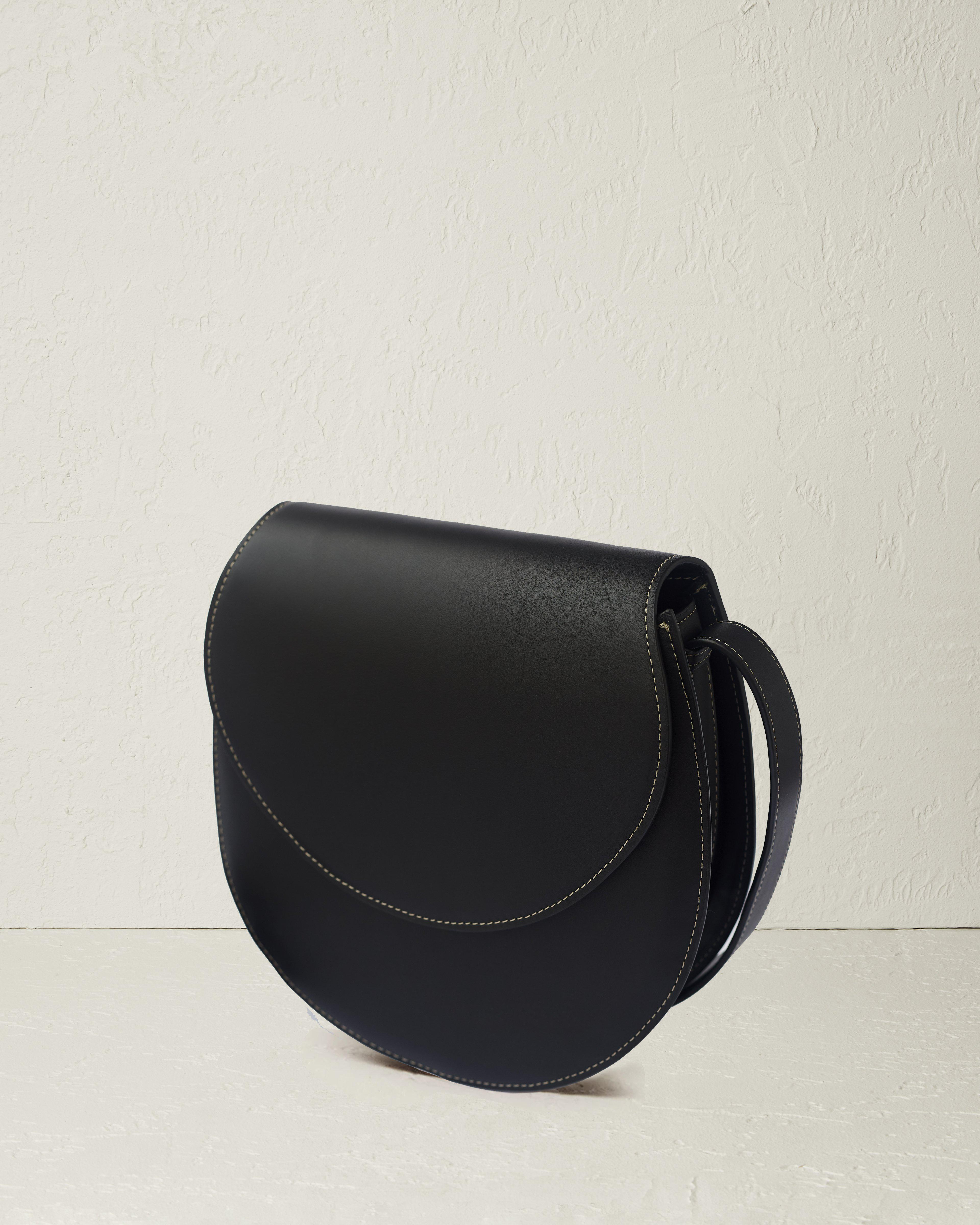 The Large Saddle in Nappa Leather 1