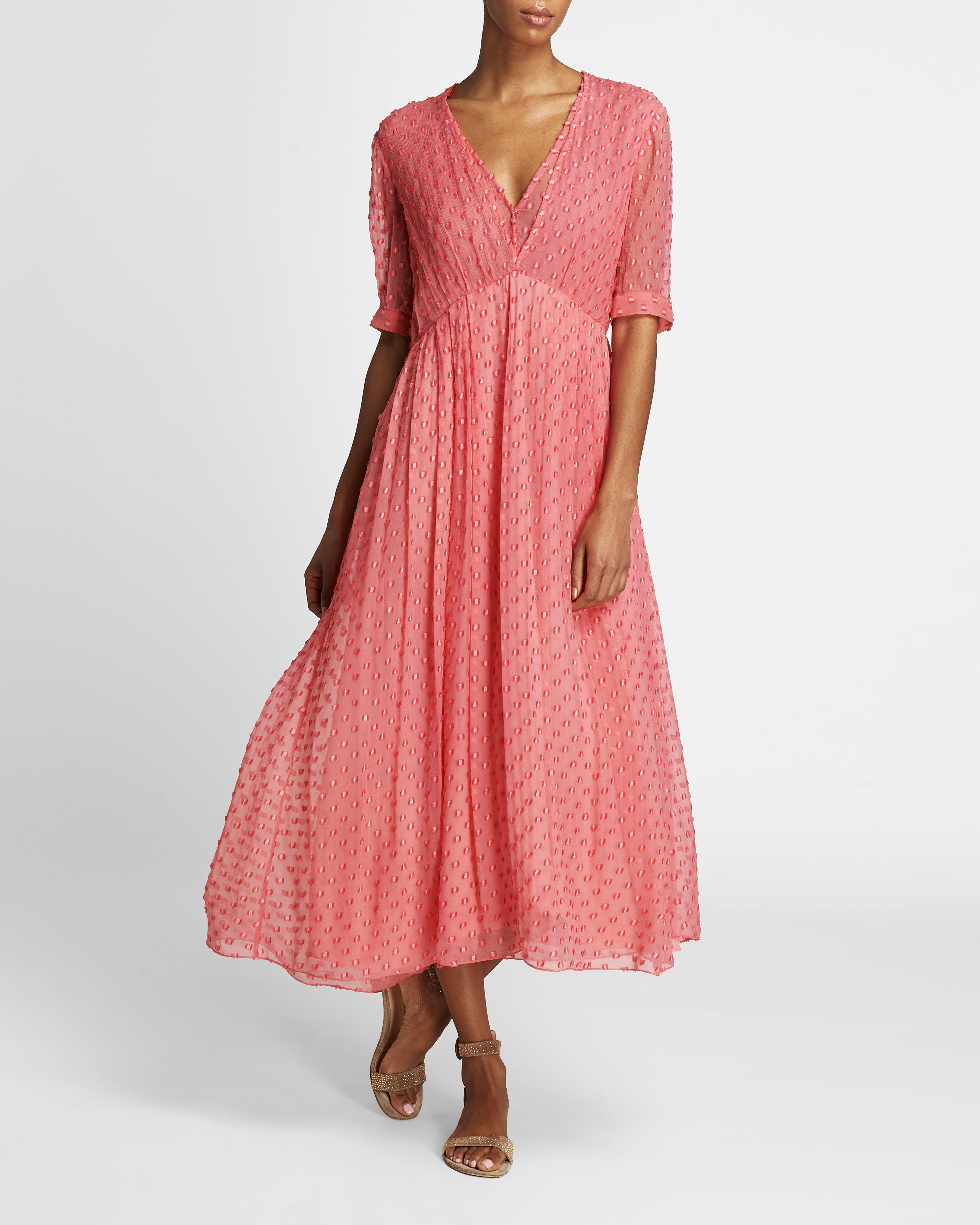 The Ivy Dress   Coral 2