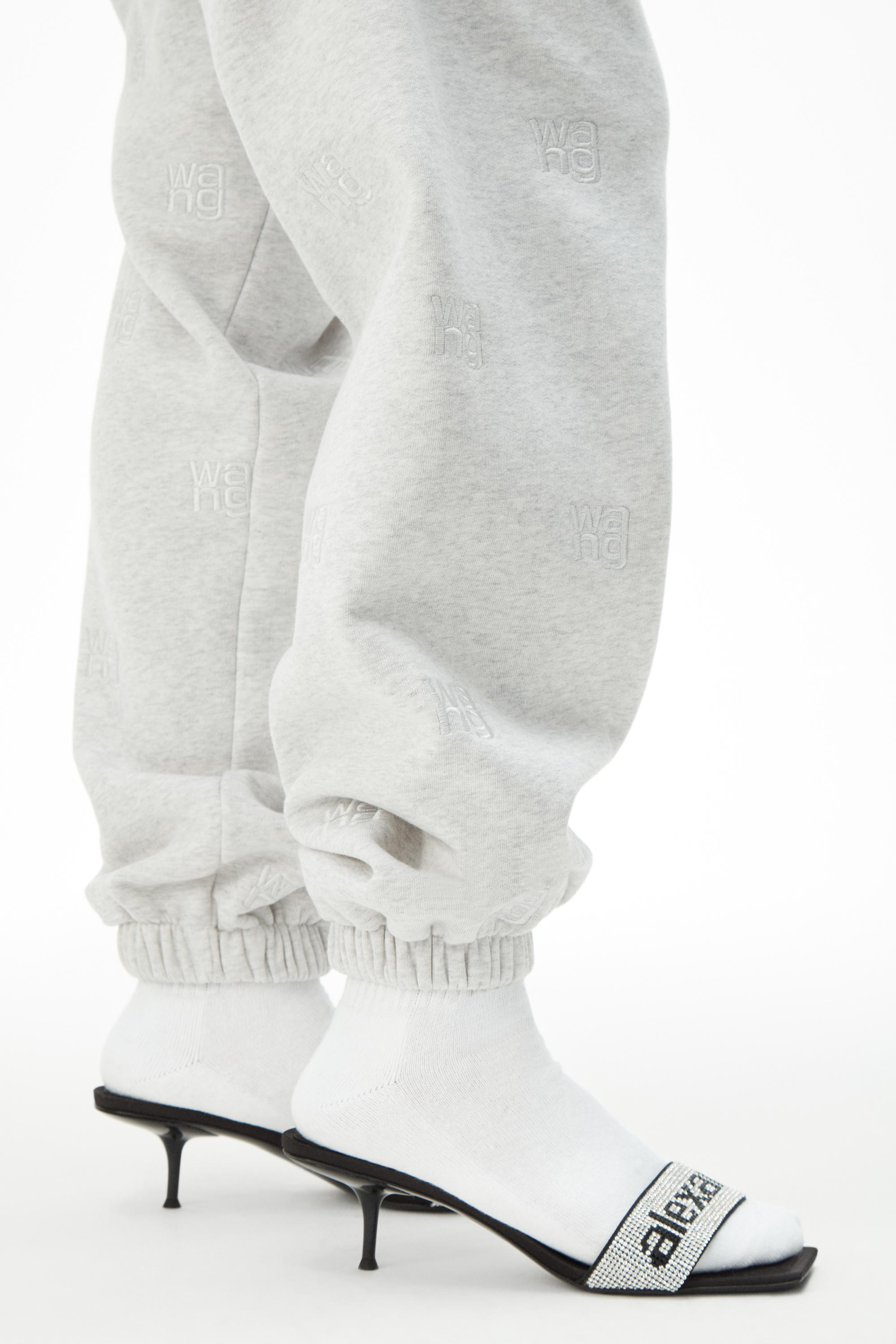 logo embroidered jogger 4
