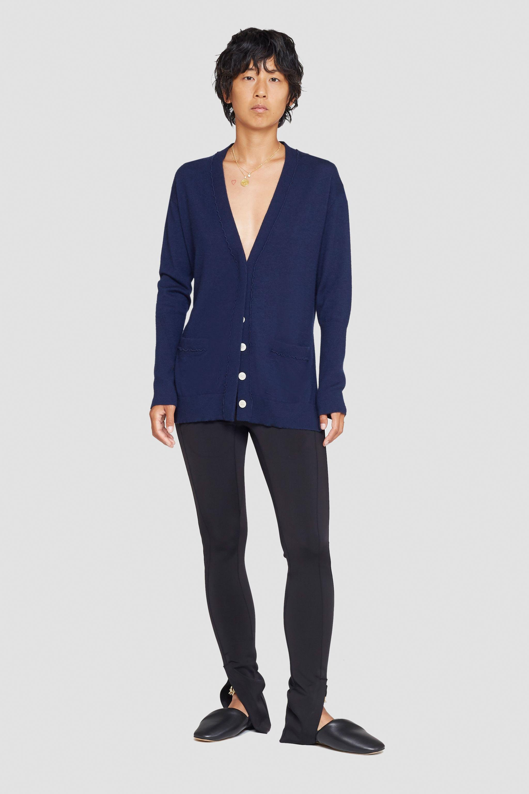 The Cashmere Cardigan With Side Slits