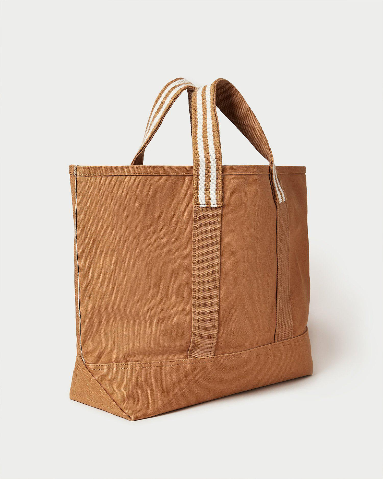 Bodie Toffee Oversized Open Tote 2
