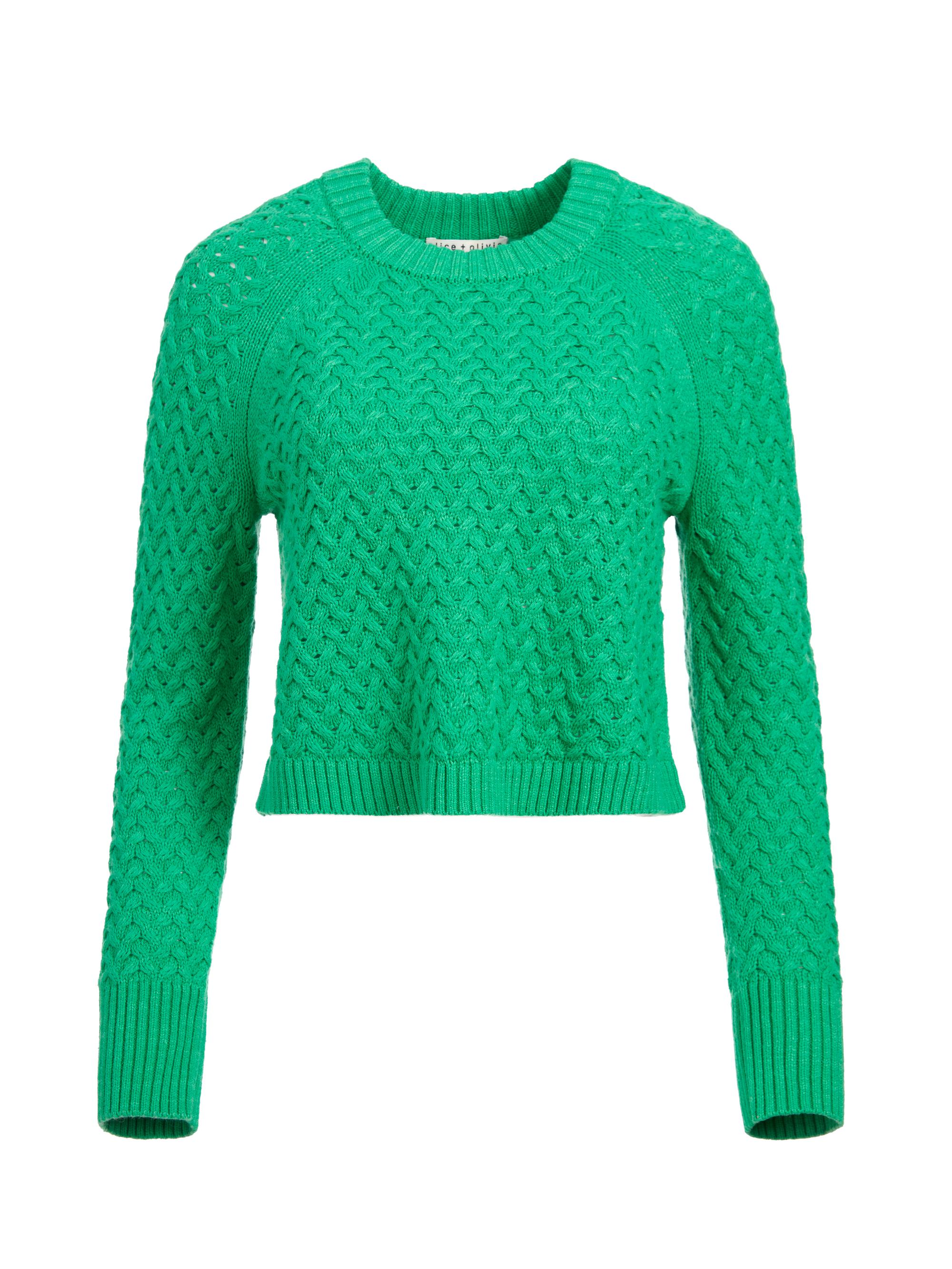 LETA CROPPED PULLOVER 5