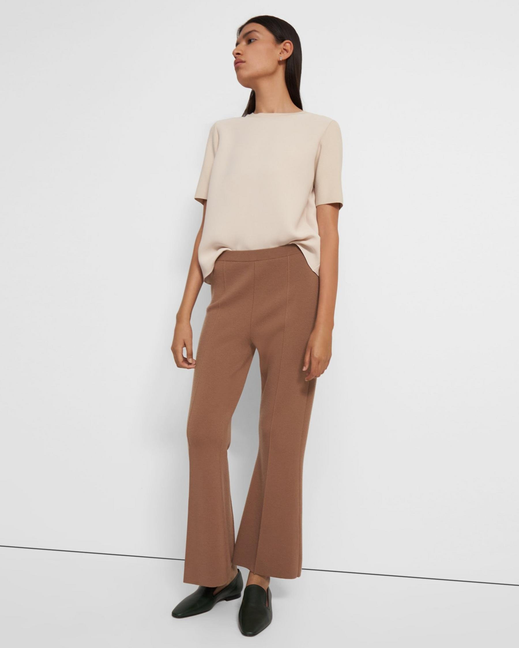 Flare Pant in Empire Wool