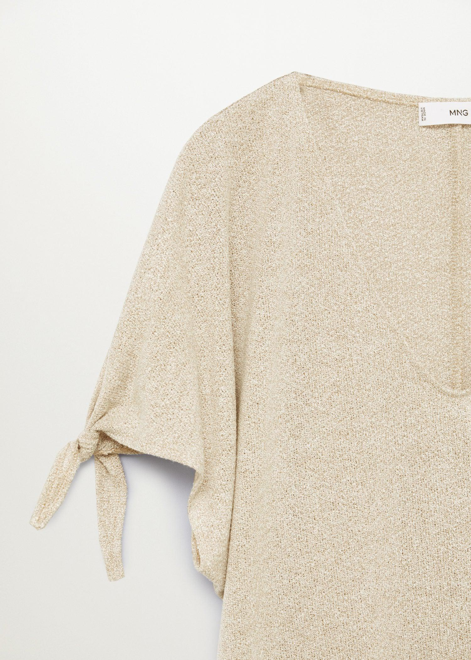 Knotted jersey T-shirt 10