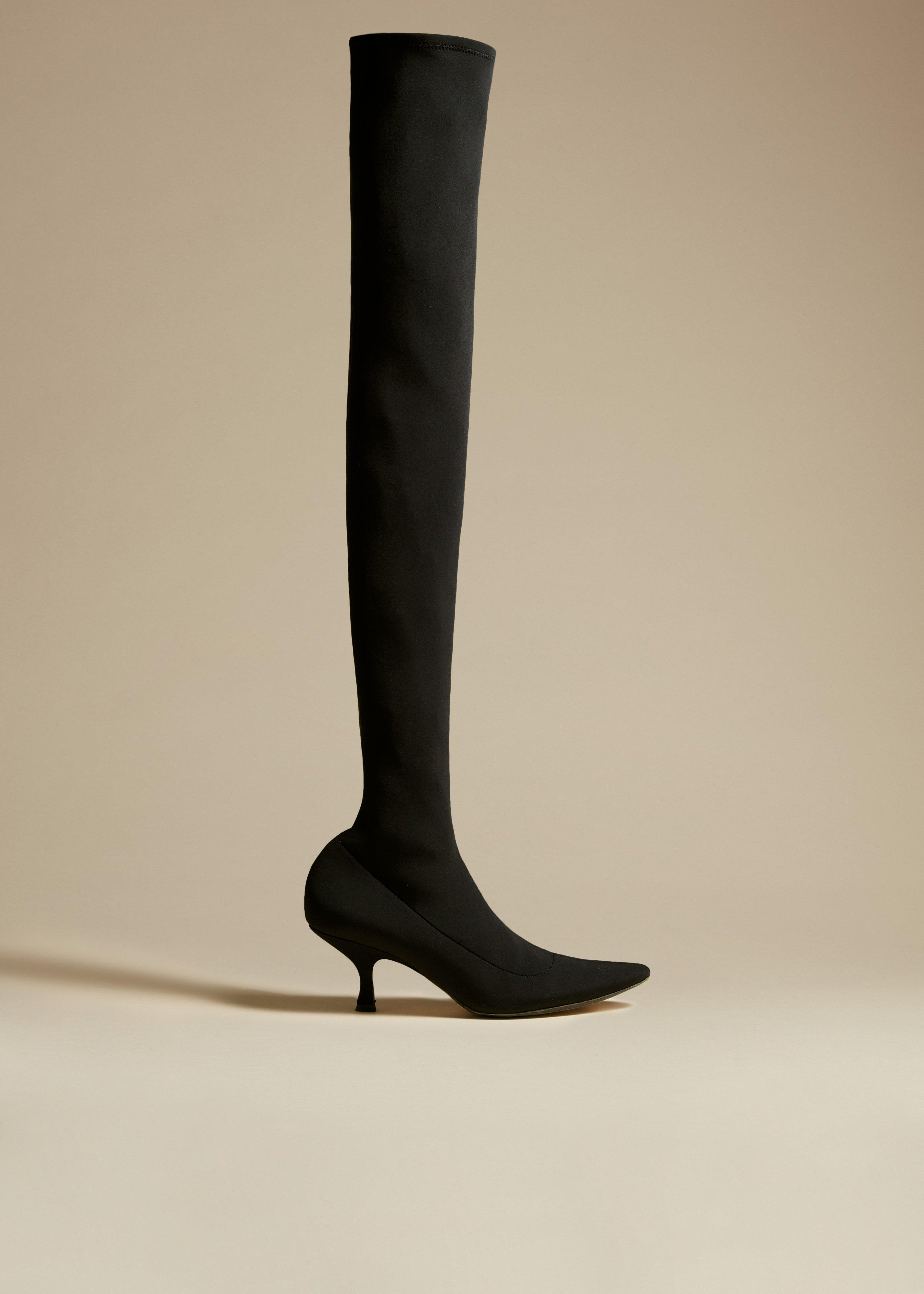 The Taylor Over-the-Knee Boot in Black