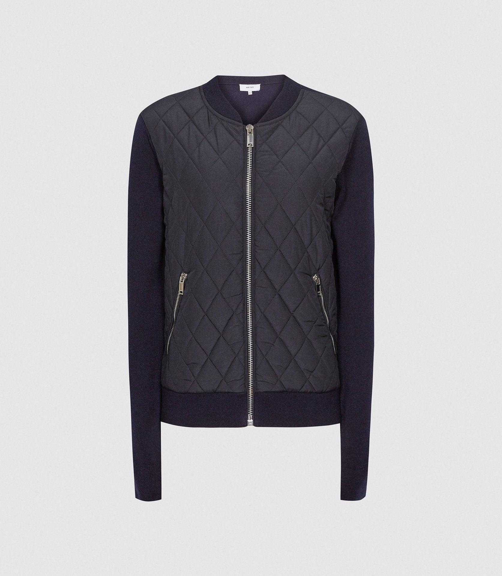 AYLA - HYBRID ZIP THROUGH QUILTED JUMPER 5