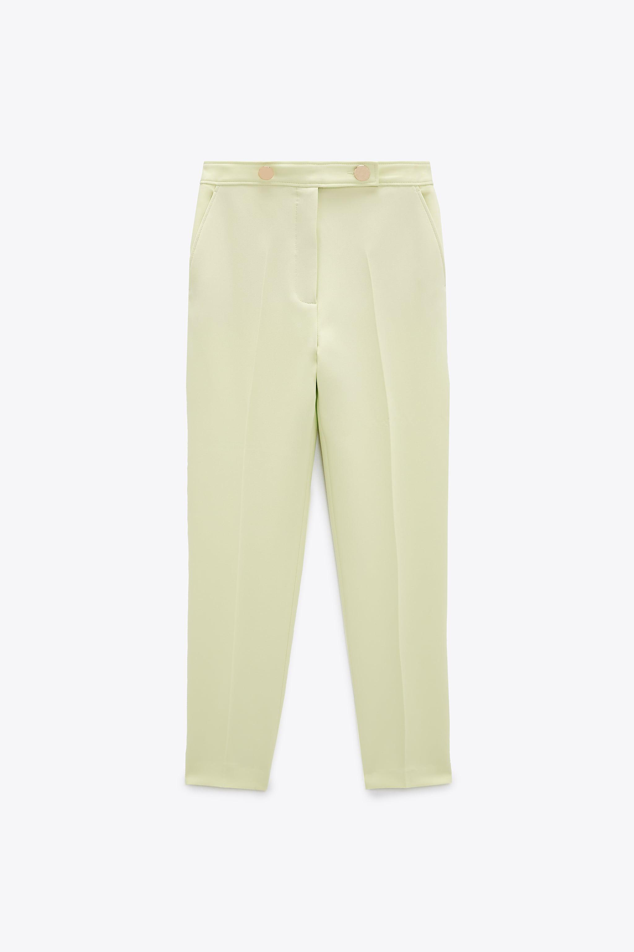 BUTTONED PANTS WITH BELT 4