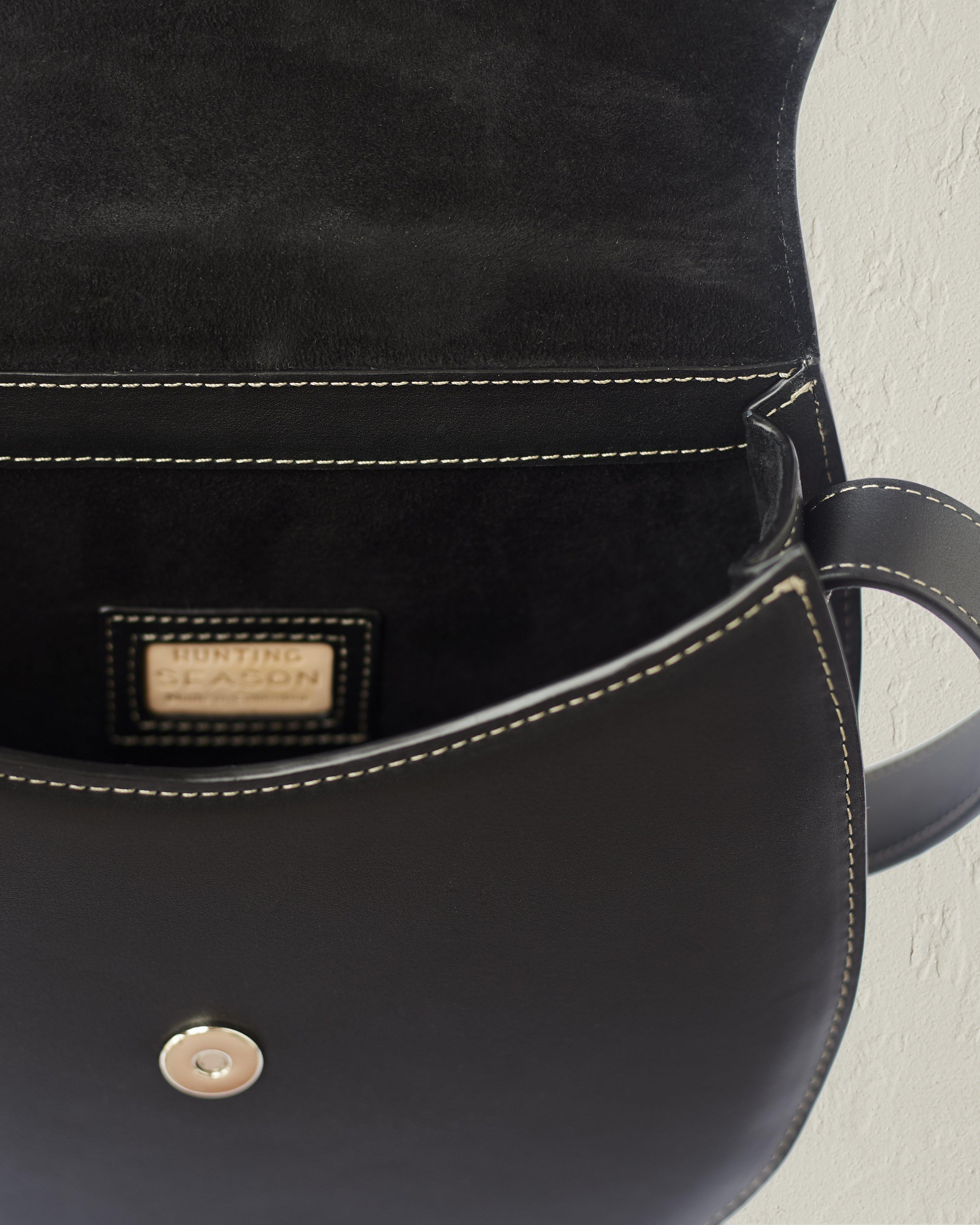 The Large Saddle in Nappa Leather 2