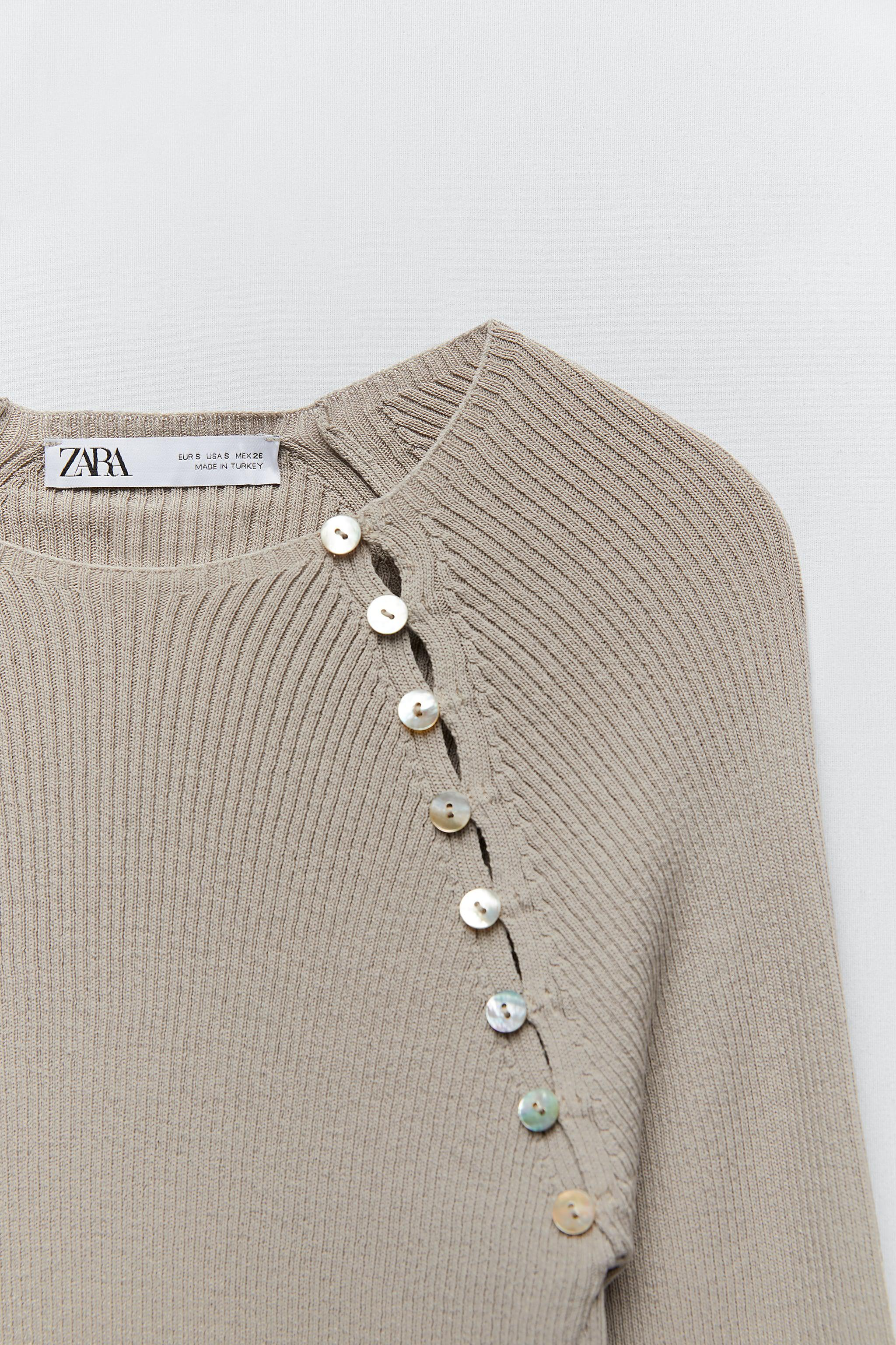 KNIT SWEATER WITH BUTTONS 4