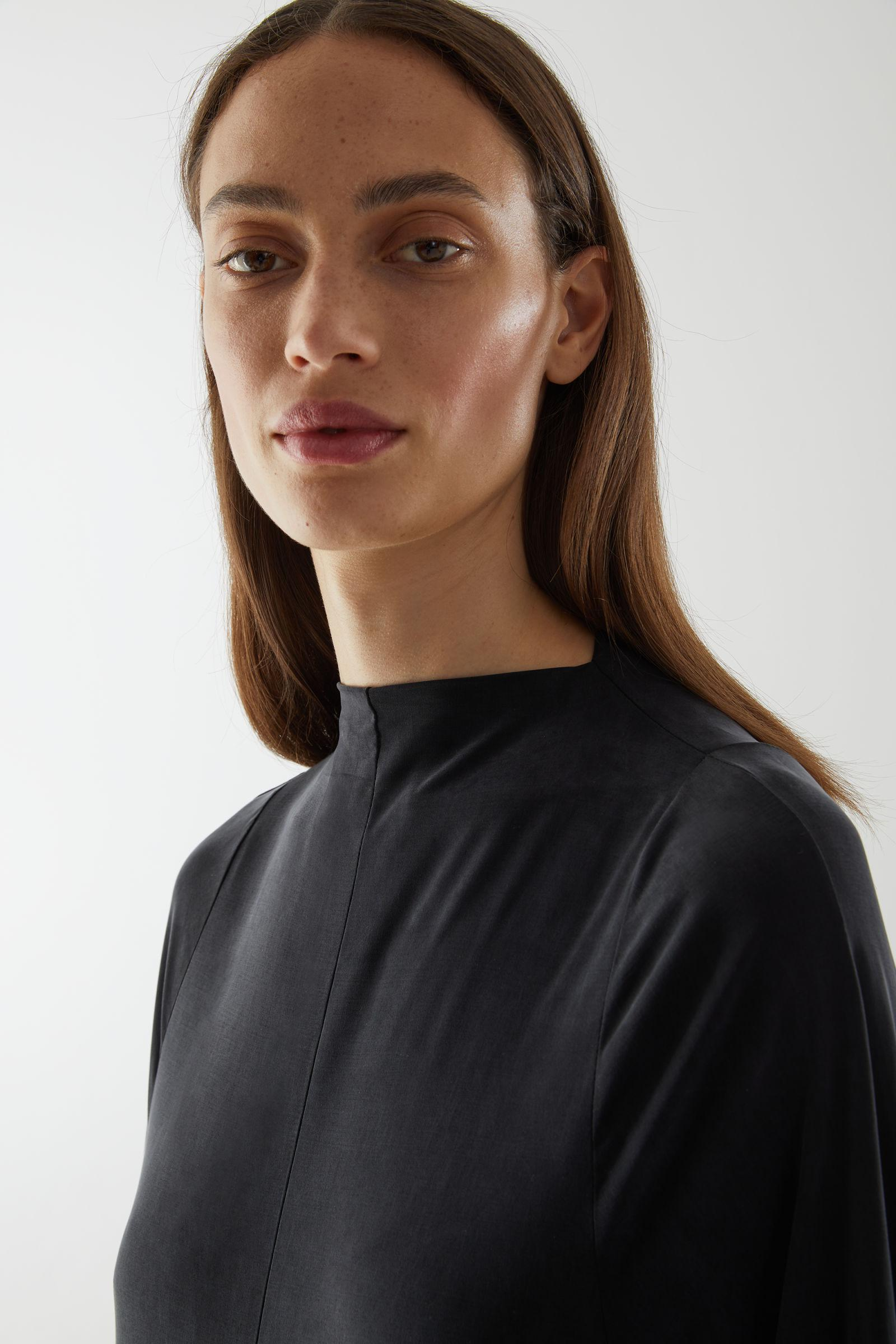 CUPRO LONG-SLEEVED TOP 2