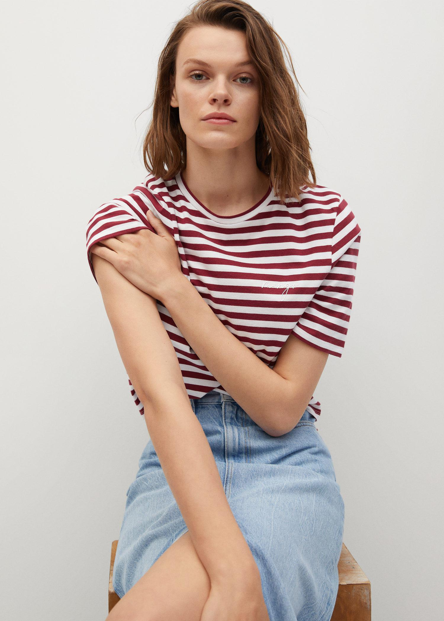 100% recycled cotton t-shirt 4