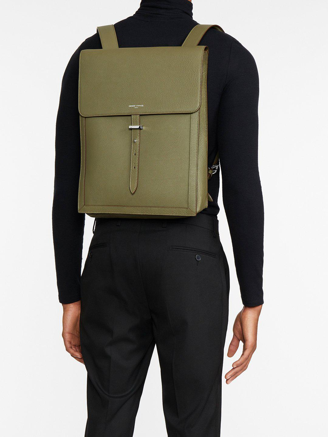Andy Leather Backpack 6