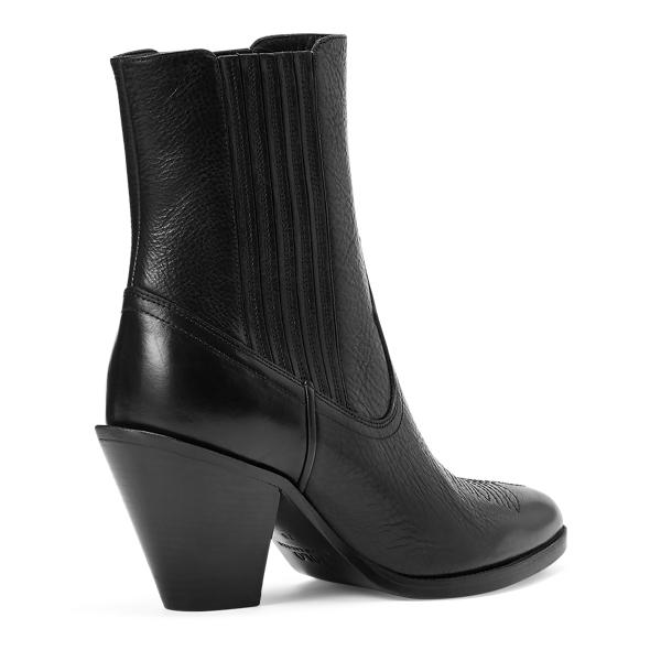 Lowrey Leather Cowboy Boot 2
