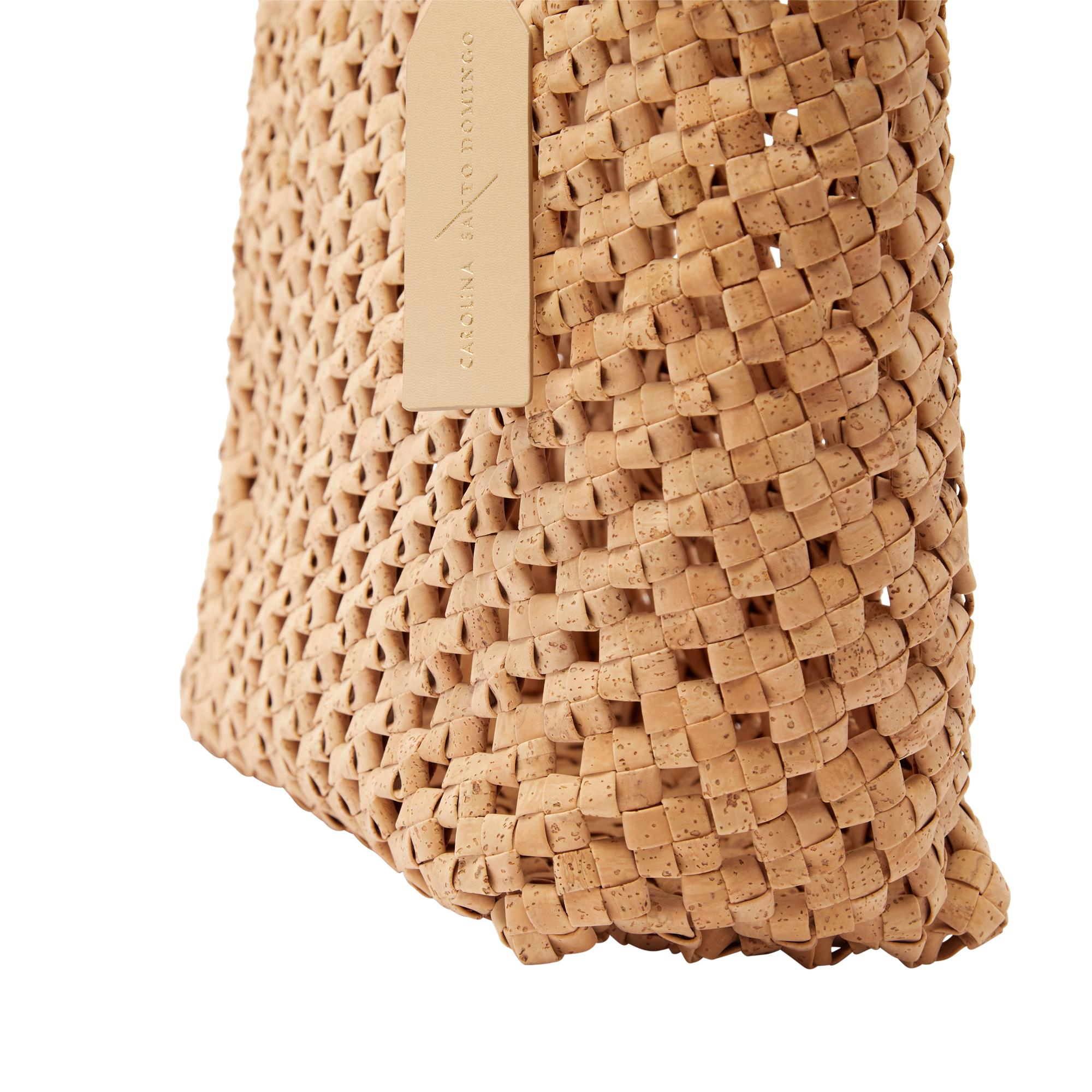 Vegan Cork Knotted Tote 4