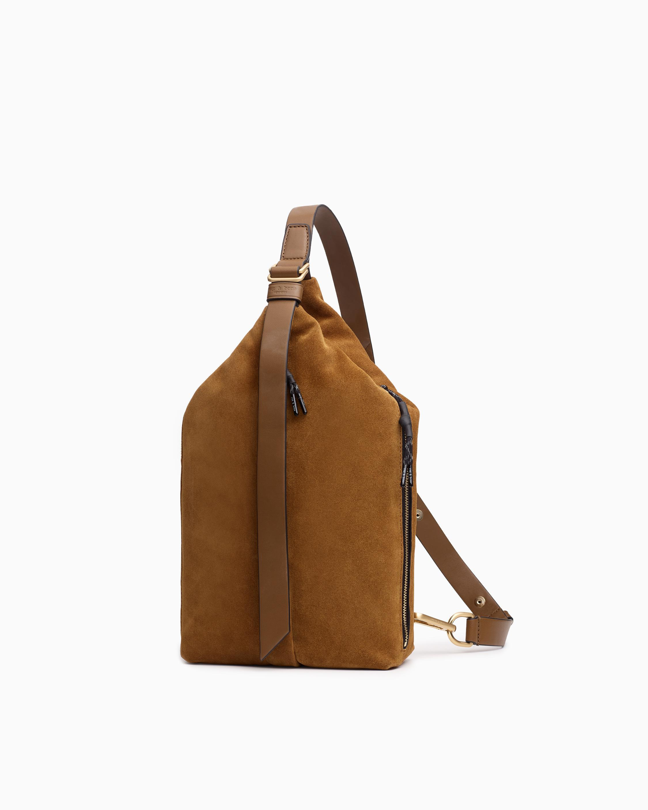 Hayden sling - suede and recycled materials