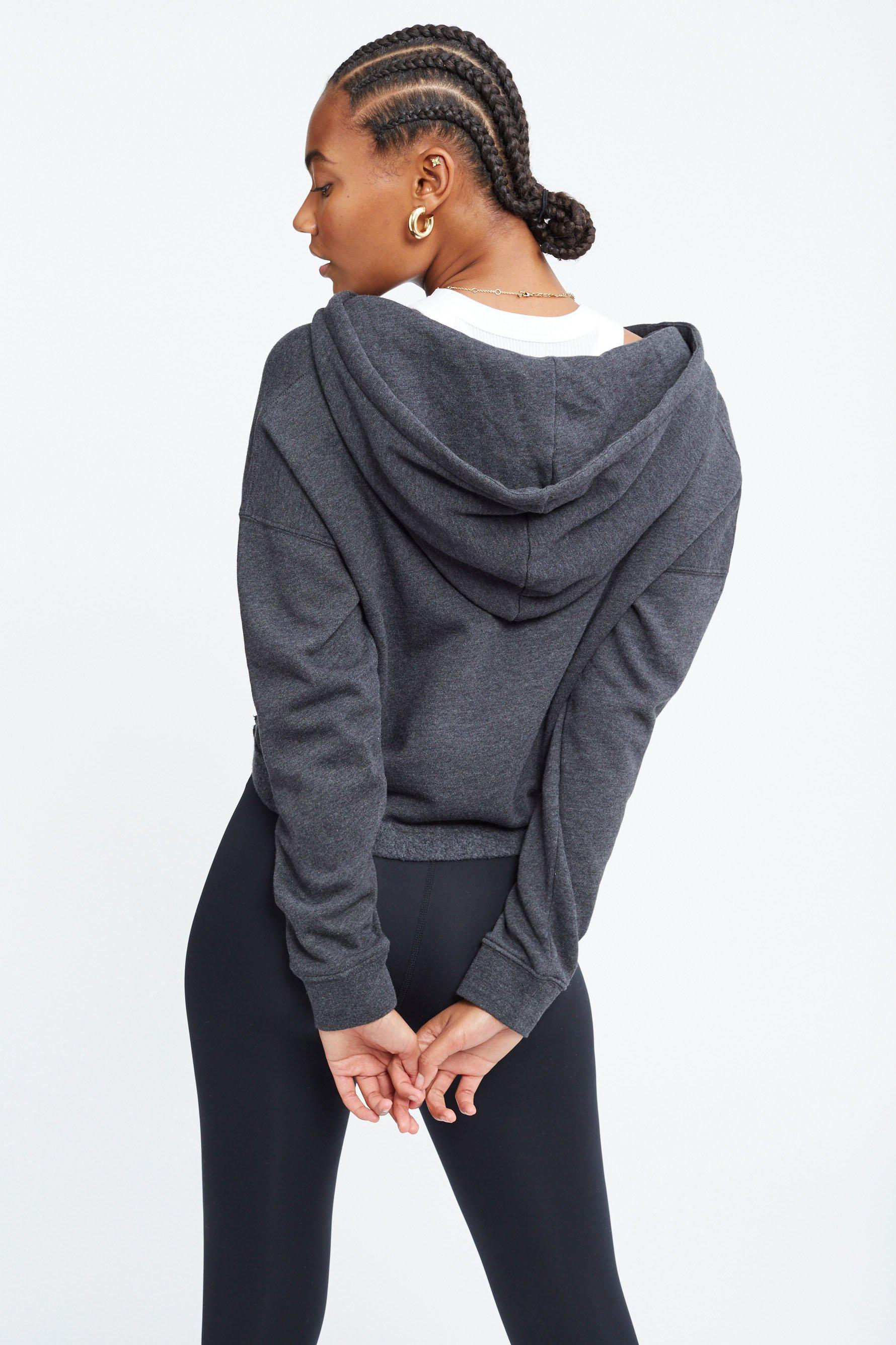 The Ecosoft Cropped Zip Up Hoodie 3