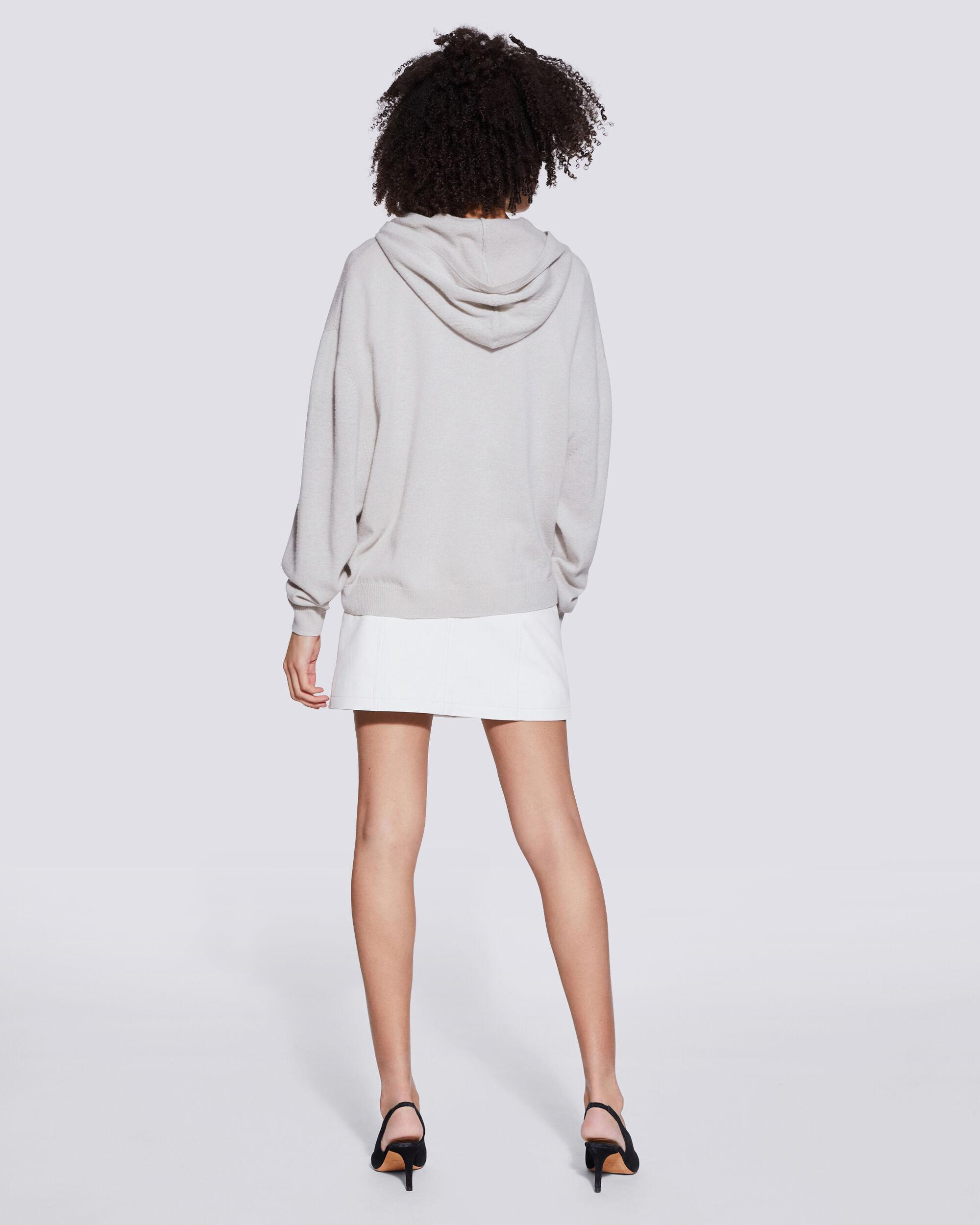 TIAGO COTTON AND CASHMERE HOODED SWEATSHIRT 3