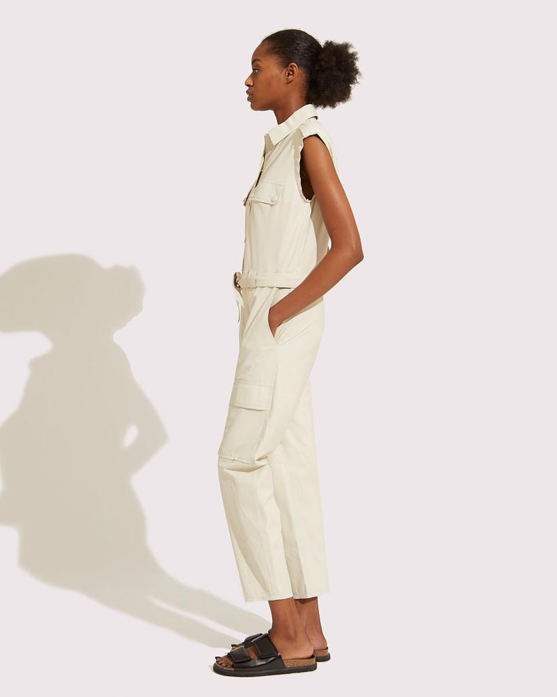 Belted multipockets overall 1
