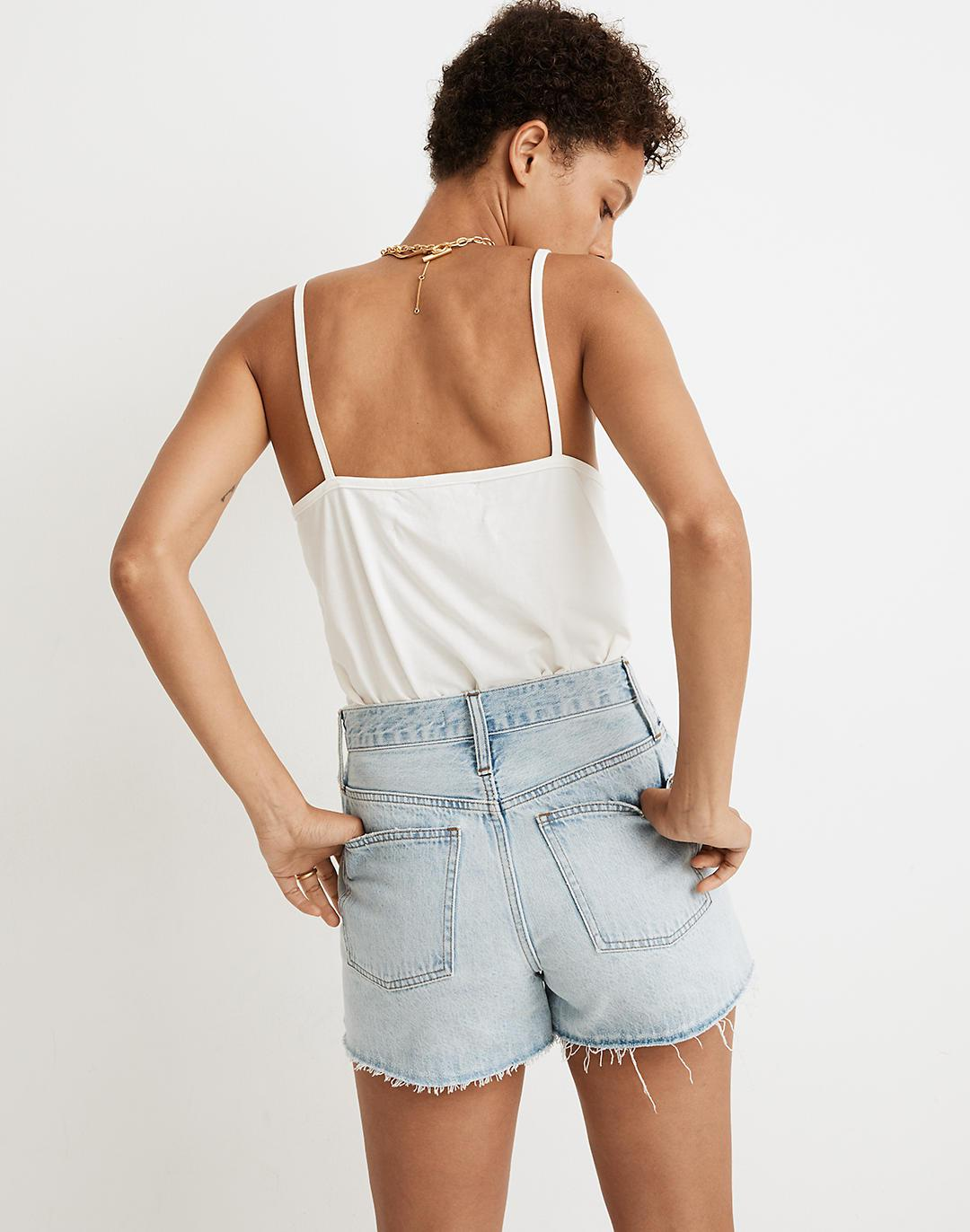 The Perfect Jean Short in Millman Wash 2
